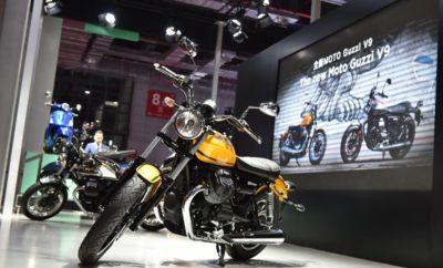 Ο Όμιλος Piaggio παρουσιάζει τις τελευταίες προτάσεις από τα εμπορικά σήματα Vespa, Piaggio, Aprilia και Moto Guzzi στην κορυφαία έκθεση αυτοκίνησης της Κίνας