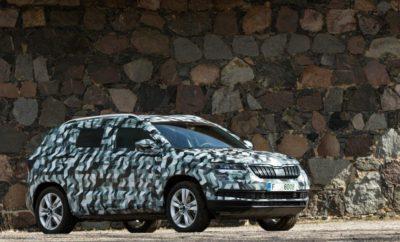To KAROQ είναι το νέο κόμπακτ SUV της ŠKODA