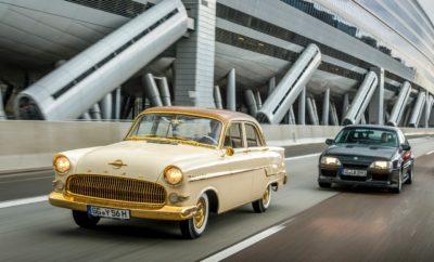 Οι Ναυαρχίδες της Opel σε Παράταξη στο Bodensee Klassik