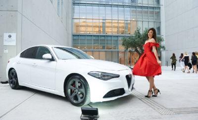 """Η Alfa Romeo Σφακιανάκης στην επίσημη παρουσίαση της συλλογής """"Celia Kritharioti Haute Couture SS17"""""""