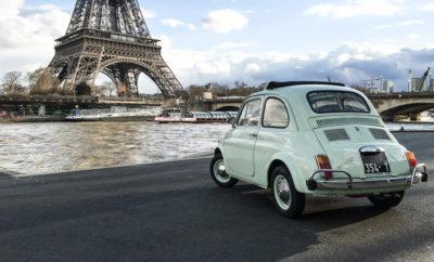 Fiat 500 Forever Young: Ταξίδι στον χρόνο με το Fiat 500 και προορισμό το Παρίσι