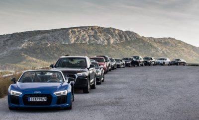 Audi on Tour: Ζήστε μια ξεχωριστή εμπειρία