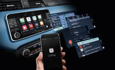 """Το νέο Nissan ΜΙCRA """"ξεφεύγει"""" με… Apple CarPlay !"""