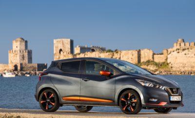 Εμπνευσμένο, σχεδιασμένο και κατασκευασμένο σύμφωνα με τις απαιτήσεις των πελατών της κατηγορίας του, η φιλοδοξία της Nissan για το νέο MICRA είναι σαφής : θα πρωταγωνιστήσει στην κατηγορία B και συγκρινόμενο με τους βασικούς αντιπάλους του θα υπερκαλύψει τις προσδοκίες του υποψήφιου αγοραστικού κοινού. Για τον λόγο αυτό, η Nissan εφοδιάζει την έκδοση Acenta του ολοκαίνουργιου MICRA με το σύστημα CarPlay της Apple, προσφέροντας στους κατόχους iPhone τις ευκολίες και τις δυνατότητες του τηλεφώνου τους, στην οθόνη του αυτοκινήτου. Αυτό πρακτικά σημαίνει ότι όταν ένα iPhone της Apple συνδεθεί με το σύστημα μέσω ενός καλωδίου, προσφέρει στους χρήστες Siri τη δυνατότητα φωνητικού ελέγχου, πλοήγηση με τους χάρτες της Apple, καθώς και πρόσβαση σε μουσική, τηλεφωνικές υπηρεσίες και άλλες εφαρμογές, όπως audiobooks και Spotify. Στο https://youtu.be/AEjtVJXL71w μπορείτε να δείτε τις εκπληκτικές δυνατότητες του CarPlay της Apple, στο νέο Nissan MICRA. Tο νέο MICRA, προσφέρεται μέχρι και το τέλος Μαΐου, με μια δελεαστική έκπτωση που διαμορφώνεται ως εξής : • Μείον (-) 600€ στις εκδόσεις με τους κινητήρες 1.0 (73hp) και turbo 0.9 (90hp) λίτρων βενζίνης. Κατά συνέπεια, οι τιμές για τις προαναφερόμενες εκδόσεις ξεκινούν από 12.090€ και 13.490€ αντίστοιχα. • Μείον (-) 300€ για τις εκδόσεις με τον κινητήρα 1.5 (90hp) diesel. Κατά συνέπεια, η τιμή της συγκεκριμένης έκδοσης ξεκινά από τις 14.890€. Για περισσότερες πληροφορίες σχετικά με το νέο Nissan MICRA, οι ενδιαφερόμενοι μπορούν να απευθύνονται στον πλησιέστερο εξουσιοδοτημένο έμπορο Nissan.