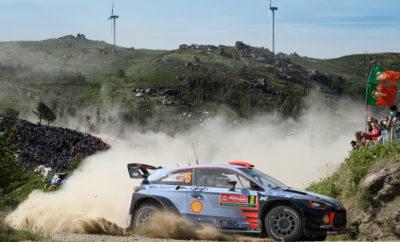 Η Hyundai Motorsport γιορτάζει διπλό βάθρο στο Rally de Portugal