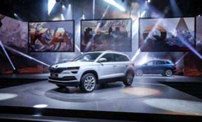 ŠKODA KAROQ: Νέο κόμπακτ SUV με κορυφαίους χώρους και τεχνολογία αιχμής