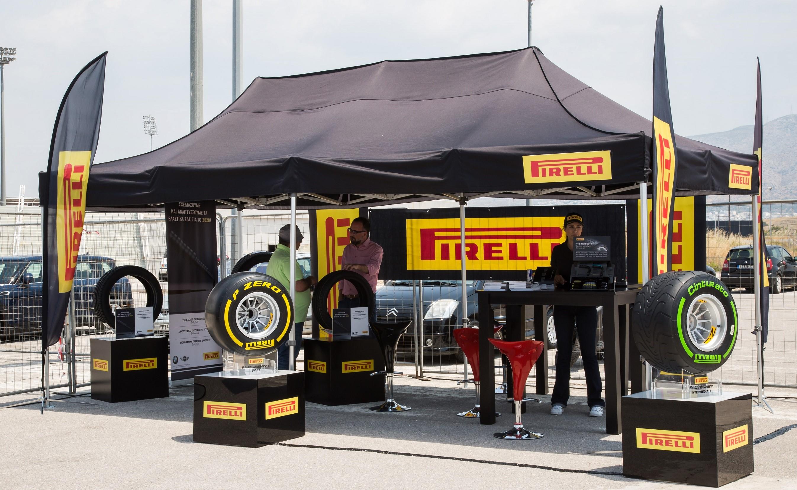 Αγωνιστική οδήγηση από την Pirelli και τα MINI JCW!
