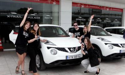 Η Nissan βραβεύει με αυτοκίνητα του νικητές του GENERATION N ! Σε μια ξεχωριστή εκδήλωση που έλαβε χώρα στις κεντρικές εγκαταστάσεις της Nissan Νικ. Ι. Θεοχαράκης Α.Ε, οι 10 νικητές του GENERATION N παρέλαβαν το βραβείο τους, που δεν είναι άλλο από ένα τελευταίο μοντέλο της Nissan για έναν ολόκληρο χρόνο ! Συγκεκριμένα οι νικητές και τα αυτοκίνητα που κέρδισαν έχουν ως εξής : Νικητής Ψήφοι Περιγραφή Έπαθλο +2FEET 2610 Ο Βασίλης Τζιγκούρας, βοηθά ανάπηρα ζωάκια να ξαναπερπατήσουν, κατασκευάζοντας αυτοσχέδια αναπηρικά αμαξίδια. Nissan JUKE ITHACA 905 Η ομάδα που δημιούργησε ένα κινητό πλυντήριο ρούχων για αστέγους, ώστε να καλύψει τη βασική ανάγκη της υγιεινής αλλά και της αξιοπρέπειας των συνανθρώπων μας. Nissan JUKE ELEKTRONIO 879 H start -up εταιρεία ποδηλάτων που δημιούργησε το πρώτο τρίτροχο, ηλεκτρικά υποβοηθούμενο, χειροποίητο ποδήλατο, για όσους αναζητούν έναν εναλλακτικό τρόπο μεταφοράς. Nissan JUKE BRAINANCE 768 To cloud-based λογισμικό που χρησιμοποιείται από τους γιατρούς για την επεξεργασία εξετάσεων μαγνητικής τομογραφίας. Nissan JUKE PHEE 735 Ο Σταύρος Τσομπανίδης, ιδρυτής της start-up Phee, επεξεργάζεται νεκρά φύκια για τη δημιουργία νέων προϊόντων, από θήκες κινητών, μέχρι πολυτελείς συσκευασίες. Nissan JUKE ΠΑΝΟΣ ΤΡΙΑΝΤΑΦΥΛΛΟΥ 730 Ο Έλληνας ασημένιος Παραολυμπιονίκης της ξιφασκίας με αμαξίδιο που αγωνίζεται στη σπάθη, καθώς και στο ξίφος μονομαχίας. Nissan PULSAR PROM RACING TEAM 717 Μία ομάδα φοιτητών του ΕΜΠ που δημιούργησε ένα αγωνιστικό μονοθέσιο στα πρότυπα της Formula 1 και διακρίνεται σε διεθνείς διαγωνισμούς και αγώνες. Nissan JUKE FINEST ROOTS 714 Μοντέρνα λικέρ που παράγονται και αποστάζονται με απόλυτα φυσικό τρόπο, αναβιώνοντας συνταγές από την ελληνική φύση. Nissan JUKE EFFECT 703 Η Effect είναι μια καινοτόμος κοινωνική επιχείρηση στο χώρο της εκπαίδευσης που φιλοδοξεί να αντιμετωπίσει τη νεανική ανεργία. Nissan JUKE ΕTHELON 698 Μια οργάνωση που αποτελείται από νέους ενεργούς ανθρώπους, πρόθυμους να προσφέρουν κοινωνικά και αναδεικνύει τ