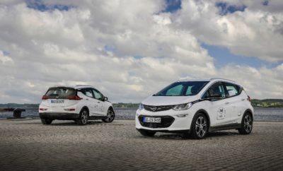το Opel Ampera-e σε Αγώνες