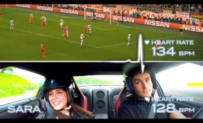 """Η Nissan """"καθ'οδόν"""" για τον Τελικό του UEFA Champions League, με ένα συναρπαστικό επιστημονικό πείραμα μέτρησης του ενθουσιασμού. Μια διαφορετική """"οπτική"""" της έννοιας του ενθουσιασμού από τη Nissan, με εθελοντές εξοπλισμένους με υπερσύγχρονους αισθητήρες κατά τη διάρκεια κρίσιμων αγώνων του UEFA Champions League, αλλά και στην πίστα Spa με 250 χιλιόμετρα / ώρα μέσα σε ένα GT-R. Ενόψει του τελικού του UEFA Champions League το προσεχές Σάββατο, η Nissan, ως επίσημος παγκόσμιος αυτοκινητικός χορηγός της διοργάνωσης, τοποθετεί το ποδόσφαιρο σε μια άλλη διάσταση, αξιολογώντας το κατά πόσο η συγκίνηση σε ένα ποδοσφαιρικό ματς είναι πιο συναρπαστική από το να είσαι επιβάτης στο θρυλικό supercar GT–R. Σε συνεργασία με τους ειδικούς της αθλητικής επιστήμης στο πανεπιστήμιο Loughborough, η Nissan εγκατέστησε στους συμμετέχοντες φορητές συσκευές προηγμένης τεχνολογίας, προκειμένου να παρακολουθήσει και να συγκεντρώσει μια σειρά δεδομένων. Αυτά περιελάμβαναν τον καρδιακό ρυθμό, τον ρυθμό αναπνοής και την ηλεκτρο-δερματική δραστηριότητα, ούτως ώστε να εξεταστεί το φυσιολογικό επίπεδο επίδρασης που είχε ο ενθουσιασμός και τελικά να προσδιοριστεί ποια δραστηριότητα είναι πιο συναρπαστική. Τα πειράματα έλαβαν χώρα κατά τη διάρκεια των προκριματικών του UEFA Champions League και συγκρίθηκαν με τις αντιδράσεις επιβατών που βρέθηκαν στη θέση του συνοδηγού του GT-R, στο περίφημο Circuit de Spa-Francorchamps στο Βέλγιο, με επαγγελματίες οδηγούς στο τιμόνι του supercar. Φυσιολογική απόκριση Αγώνες UEFA Champions League GT-R track day Μέση Αύξηση Καρδιακού Ρυθμού 39% 37% Μέση Τιμή Καρδιακού Ρυθμού 91 BPM 100BPM Μέσος Όρος Καρδιακής Συχνότητας 124BPM 136BPM Μέση Αύξηση του Ρυθμού Αναπνοής 140% 144% Μέσος Ρυθμός Αναπνοής 15 αναπνοές / λεπτό 15 αναπνοές / λεπτό Μέσος Ρυθμός Μέγιστης Αναπνοής 35 αναπνοές / λεπτό 35 αναπνοές / λεπτό Σχολιάζοντας τα ευρήματα από τα δύο σύνολα πειραμάτων, ο Δρ. Dale Esliger από το Πανεπιστήμιο Loughborough, μεταξύ άλλων δήλωσε: """"Πριν τη διεξαγωγή των πειραμάτων,"""