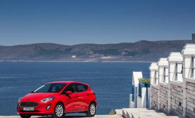 """Το νέο Ford Fiesta """"παρκάρει"""" στη Μαρίνα Φλοίσβου και στο The Mall Athens Το πιο τεχνολογικά προηγμένο αυτοκίνητο της κατηγορίας ανοίγει τις πόρτες του για το Ελληνικό κοινό σε δύο από τα πιο πολυσύχναστα και """"in"""" σημεία της Αθήνας. Δείτε από κοντά το νέο Ford Fiesta στο ειδικά διαμορφωμένο περίπτερο της Ford στο The Mall Athens και στη Μαρίνα Φλοίσβου, όπου εκπαιδευμένο προσωπικό θα σας περιμένει για να σας ξεναγήσει σε όλες τις νέες τεχνολογίες του. Ζήστε έντονα την κάθε στιγμή, με το κορυφαίο ηχοσύστημα Bang & Olufsen, τα 8 χρόνια Εργοστασιακή Εγγύηση και την Προνομιακή Χρηματοδότηση του νέου Ford Fiesta! Μπορείτε να γιορτάσετε μαζί με τη Ford το λανσάρισμά του στην Ελληνική αγορά μέσα από την εκπομπή του RED FMH 96.3 με τους Τάκη Γιαννούτσο και Θοδωρή Βαμβακάρη, που θα μεταδοθεί ζωντανά από τη Μαρίνα Φλοίσβου αυτό το Σάββατο 15 Ιουλίου 2017 στις 20.00-22.00. Nέο Ford Fiesta, Feel. Every. Fiesta. Moment.!!! Περίπτερο Ford @ The Mall Athens: Αυτοκίνητα: Νέο Ford Fiesta / Ford Ka+ / Ford Kuga / Ford Focus Ώρες λειτουργίας: Δευτέρα-Παρασκευή 14:30-21:30 Σάββατο 12:00-20:00 Κυριακή 19:00-22:00 Περίπτερο Ford @ Μαρίνα Φλοίσβου: Αυτοκίνητα: Νέο Ford Fiesta / Ford Ka+ / Ford Kuga Ώρες λειτουργίας: Δευτέρα-Κυριακή 19:00-23:00"""