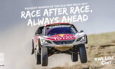 Θρίαμβος PEUGEOT για 2η συνεχόμενη χρονιά στο Silk Way Rally • Οι Cyril Despres / David Caster έκαναν το «2 στα 2» και κατέκτησαν το Silk Way Rally επαναλαμβάνοντας τον περσινό θρίαμβο. Το PEUGEOT DKR #100 τερμάτισε τον μαραθώνιο των 9.599 χιλιομέτρων -εκ των οποίων τα 4.094 χλμ. ήταν χρονομετρημένα- με διαφορά μίας ώρας και πέντε λεπτών. • Η γαλλική ομάδα ήταν απόλυτη κυρίαρχος αφού σε κάθε μια μέρα, από τις 13 συνολικά, ένα PEUGEOT ήταν μπροστάρης του Silk Way Rally. Με τα πληρώματα των Sebastien Loeb / Daniel Elena, Stéphane Peterhansel / Jean-Paul Cottret και Cyril Despres / David Castera, η Dream Team της Peugeot κατέκτησε 10 ειδικές με επτά «1-2» τερματισμούς και δύο «1-2-3». • Οι Stephane Peterhansel / Jean-Paul Cottret ολοκλήρωσαν τον αγώνα στην 5η θέση νικώντας σε πέντε ειδικές. Είχαν μία εξαιρετική εμφάνιση, αλλά οι πιθανότητες τους εξανεμίστηκαν όταν στην 5η ειδική έχασαν πολύτιμο χρόνο μετά από ανατροπή και επισκευή του αυτοκινήτου. • Τα τρία πληρώματα απέδειξαν για μία ακόμη φορά την υπεροχή της PEUGEOT με τους μηχανικούς να βγάζουν τα συμπεράσματα για το νέο Peugeot DKR Maxi και να προχωρούν στις απαραίτητες τεχνικές βελτιώσεις μέχρι το επόμενο Ντακάρ! Κυριαρχία PEUGEOT και στην Κίνα! To Silk Way Rally ξεκίνησε από την Ρωσία και μετά από δύο εβδομάδες ολοκληρώθηκε στην Κίνα. Συγκεκριμένα, στις 7 Ιουλίου ξεκίνησαν από την Μόσχα δύο περσινών προδιαγραφών Peugeot DKR (όπως αυτά που σφράγισαν τον θρίαμβο στο Ντακάρ), ενώ το τρίτο του Loeb ήταν το καινούργιο DKR Maxi. Το Peugeot DKR Maxi έχει ένα φαρδύτερο μετατρόχιο που είναι αυξημένο κατά 10 εκατοστά από κάθε πλευρά, μία αύξηση που προέκυψε από τα νέα πάνω και κάτω ψαλίδια, από τους νέους βραχίονες μπρος-πίσω και τα νέα ημιαξόνια. Επίσης, υπάρχουν διάφορες άλλες τεχνικές βελτιώσεις, ενώ η κίνηση εξακολουθεί να μεταφέρεται αποκλειστικά στους πίσω τροχούς. Ο Sebastien Loeb έκανε έναν εντυπωσιακό αγώνα κατακτώντας την 1η εβδομάδα τέσσερις ειδικές και έχοντας ένα αβαντάζ μίας ώρας. Ωστόσο, στη συνέχεια είχε έ