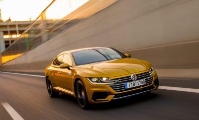 """5 αστέρια για το νέο Volkswagen Arteon από τον EuroNCAP!» • Η κορυφαία διάκριση επιβεβαιώνει τα άριστα επίπεδα ασφάλειας που προσφέρει το νέο μοντέλο της Volkswagen • Euro NCAP: """"Η υψηλότερη βαθμολογία έως τώρα που έχει σημειώσει μοντέλο της κατηγορίας στην προστασία των πεζών"""" Στις πρόσφατες δοκιμές αξιολόγησης του νέου Arteon από τον έγκριτο οργανισμό Euro NCAP η Volkswagen πέτυχε για μία ακόμη φορά άριστα αποτελέσματα σε όλες τις δοκιμασίες πρόσκρουσης. Ο ανεξάρτητος Ευρωπαϊκός οργανισμός που αξιολογεί την προστασία που παρέχουν τα νέα επιβατικά μοντέλα απέδωσε στο Arteon την υψηλότερη βαθμολογία του των 5 αστεριών. Η νέα διάκριση δεν επισφραγίζει απλά την υψηλή προστασία για τους ενήλικες και τα παιδιά που βρίσκονται σε ένα Arteon, αλλά και την αποτελεσματικότητα των συστημάτων υποβοήθησης που είναι στάνταρ καθώς και τις επιδόσεις του στον τομέα της «προστασίας πεζών» (Pedestrian protection). Σύμφωνα με τον Euro NCAP, το Arteon αναδείχθηκε ως το πολυτελές μοντέλο με την υψηλότερη επίδοση στην προστασία των πεζών, με την επιτυχία αυτή να οφείλεται σε ένα μεγάλο μέρος στο εξελιγμένο σύστημα αυτόνομης πέδησης (emergency braking) που περιλαμβάνεται στον βασικό εξοπλισμό του. Η βράβευση με 5 αστέρια από τους ειδικούς του Euro NCAP (European New Car Assessment Programme) αναδεικνύει το Arteon ως μία από τις ασφαλέστερες επιλογές στην κατηγορία του. Το προηγμένο σύνολο από ηλεκτρονικά συστήματα υποβοήθησης προσφέρει την υψηλότερη ασφάλεια για τους επιβάτες προλαμβάνοντας και αποτρέποντας περιπτώσεις σύγκρουσης, όταν παράλληλα η βέλτιστη δομή του πλαισίου συμπληρώνει μαζί με τις ζώνες ασφαλείας και τους αερόσακους ένα πληρέστατο πακέτο παθητικής ασφάλειας. Η συνολική αξιολόγηση των 5 αστέρων διαμορφώνεται κυρίως από τέσσερις δοκιμές. Στην προστασία ενηλίκων το νέο gran turismo της Volkswagen πέτυχε μία επίδοση στο 96% του μέγιστης δυνατής, όταν στην προστασία των παιδιών το ποσοστό αυτό ήταν εξίσου υψηλό αγγίζοντας το 85%. Η πολύ υψηλή επίδοση του 85% στην προστασία των"""