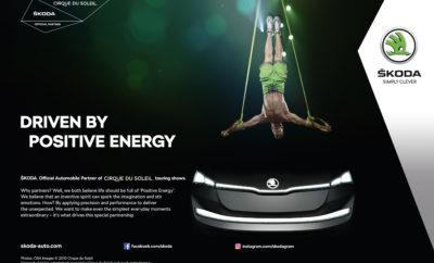 """Η ŠKODA και το Cirque du Soleil® συνάπτουν μακροπρόθεσμη συνεργασία» • Τετραετής συμφωνία συνεργασίας • Η ŠKODA αναπόσπαστο τμήμα της διαφημιστικής καμπάνιας του Cirque du Soleil • Μέχρι σήμερα, το Cirque du Soleil αριθμεί πάνω από 180 εκατομμύρια θεατές • Η ŠKODA και το Cirque du Soleil αποτελούν πηγή έμπνευσης σε όλο τον κόσμο με τις έξυπνες ιδέες και το καινοτόμο πνεύμα τους Η ψυχαγωγία συναντά το αυτοκίνητο. Η ŠKODA διευρύνει την εταιρική της δέσμευση συνάπτοντας μία συνολική εταιρική συνεργασία με το παγκοσμίου φήμης 'Τσίρκο του Ήλιου' - Cirque du Soleil. Η Καναδική εταιρία ζωντανής ψυχαγωγίας είναι γνωστή σε όλο τον κόσμο για τις συναρπαστικές παραστάσεις και τους ταλαντούχους καλλιτέχνες της. Πάνω από 180 εκατομμύρια θεατές έχουν παρακολουθήσει παραστάσεις του Cirque du Soleil από τότε που ξεκίνησε, πριν από 30 χρόνια περίπου. Φέτος, το Cirque du Soleil ταξιδεύει σε όλο τον κόσμο στα πλαίσια περιοδείας με 10 διαφορετικές παραστάσεις, πολλές από τις οποίες φιλοξενούνται σε σημαντικές αγορές της ŠKODA στην Ευρώπη, ενώ η ετήσια τουρνέ περιλαμβάνει ακόμα και μία εμφάνιση στην Κίνα. Η συνεργασία της μάρκας με το διάσημο καλλιτεχνικό τσίρκο Cirque du Soleil ανοίγει στη ŠKODA πλείστες νέες ευκαιρίες για την προσέγγιση εκατομμυρίων νέων, υποψηφίων πελατών. Το Cirque du Soleil έχει μία παγκόσμια βάση θαυμαστών, με σχεδόν 10 εκατομμύρια followers στα μέσα κοινωνικής δικτύωσης και οι παραστάσεις του προσελκύουν έντεκα εκατομμύρια θαυμαστές σε όλο τον κόσμο, κάθε χρόνο. Η ŠKODA θα αποτελέσει αναπόσπαστο τμήμα της διαφημιστικής καμπάνιας του Cirque du Soleil σε υπαίθριες διαφημίσεις, έντυπα προϊόντα, τηλεοπτικά διαφημιστικά σποτ και στη διαδικτυακή παρουσία του Cirque du Soleil. Η συνεργασία τετραετούς διάρκειας – μέχρι το 2021 - περιλαμβάνει επίσης καμπάνιες μάρκετινγκ μεγάλης κλίμακας και αποκλειστικές εμπειρίες VIP, όπως 'εμπειρία από τα παρασκήνια,' γνωριμία με τους καλλιτέχνες, αλλά και προωθητικές ενέργειες συνδεδεμένες με τη πόλη του Las Vegas. Οι """"ειδικοί"""" της ψυχ"""