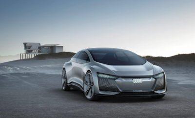 • Το όραμα της Audi για αυτόνομη οδήγηση σε Επίπεδο 5 • Επαναστατικός σχεδιασμός • Απόλυτα ηλεκτρικό με αυτονομία μέχρι 800 χλμ Με το τετράθυρο Audi Aicon, η μάρκα με σήμα τους τέσσερις κύκλους παρουσιάζει το αυτόνομο Audi του μέλλοντος – χωρίς τιμόνι, χωρίς πεντάλ. Ως σχεδιαστική αντίληψη, το τετράθυρο 2+2 κάνει ένα τολμηρό άλμα προς το αύριο για να δείξει την εσωτερική και εξωτερική σχεδίαση των επόμενων δεκαετιών. Αυτό το εξαίρετο τεχνολογικό επίτευγμα συνδυάζει καινοτομίες που αφορούν τη μετάδοση κίνησης, την ανάρτηση, την ψηφιοποίηση και την κινητική αυτονομία - ένα μοναδικό όραμα για την αυτοκίνηση. Το Aicon είναι επίσης σχεδιασμένο για αμιγώς ηλεκτρική λειτουργία και θα είναι ικανό να καλύψει αποστάσεις από 700 ως 800 χλμ χωρίς επαναφόρτιση. Σχεδιαστική μελέτη, τεχνολογικό επίτευγμα, μοντέρνα αντίληψη κινητικόητας: Το πρωτότυπο Audi Aicon χρησιμοποιεί όλες τις δυνατότητες που προσφέρει ένα αυτόνομο πολυτελές σεντάν του μέλλοντος με πρωτοφανή συνέπεια. Ως σχεδιαστική μελέτη, το τετράθυρο 2+2 κάνει ένα τολμηρό άλμα προς το αύριο για να δείξει την εσωτερική και εξωτερική σχεδίαση των επόμενων δεκαετιών. Ως τεχνολογικό επίτευγμα συνδυάζει καινοτομίες που αφορούν τη μετάδοση κίνησης, την ανάρτηση, την ψηφιοποίηση και την κινητική αυτονομία, αποτελώντας ένα μοναδικό όραμα για την αυτοκίνηση. Το Audi Aicon δείχνει τον κόσμο του αύριο, στον οποίο τα πλεονεκτήματα της ατομικής μετακίνησης συνδυάζονται με το περιβάλλον μιας πολυτελούς αεροπορικής καμπίνας. Μιας καμπίνας χωρίς τιμόνι ή πεντάλ, που μπορεί έτσι να προσφέρει όλες τις ανέσεις των σύγχρονων ηλεκτρονικών μέσων επικοινωνίας με τέλεια εργονομία – απλά πολυτελούς. Μια ματιά είναι υπεραρκετή: Αντίθετα από ότι ένα ρομποτικό ταξί, το οποίο περιορίζεται στην απλή λειτουργικότητα, το αυτόνομο Audi Aicon δεν γνωρίζει όρια. Αδύνατο να αγνοήσεις την παρουσία του και η εξωτερική του εμφάνιση προϊδεάζει για την ευρύχωρη άνεση που απολαμβάνουν οι επιβάτες και τις υψηλές τεχνικές φιλοδοξίες του. Το Audi Aicon είναι μια κλεφ