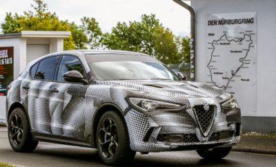Η Alfa Romeo Stelvio Quadrifoglio το πιο γρήγορο SUV παραγωγής στον κόσμο με χρόνο ρεκόρ στο Nürburgring Η Alfa Romeo Stelvio Quadrifoglio αναδείχθηκε το πιο γρήγορο SUV παραγωγής στον κόσμο, σημειώνοντας ρεκόρ γύρου στη θρυλική γερμανική πίστα του Nürburgring: 7 λεπτά και 51.7 δευτερόλεπτα (ακριβώς 8 δευτερόλεπτα πιο γρήγορη από τον προηγούμενο κάτοχο του τίτλου). Πρόκειται για ένα ακόμα ορόσημο στην αγωνιστική παράδοση του Quadrifoglio και την μακρόχρονη ιστορία της Alfa Romeo. Το ρεκόρ της Stelvio Quadrifoglio κατέγραψε ο Fabio Francia, ο ίδιος οδηγός που κατέρριψε το ρεκόρ στην κατηγορία των 4θυρων σεντάν, σημειώνοντας με τη Giulia Quadrifoglio, στην ίδια πίστα, μόλις 7 λεπτά και 32 δευτερόλεπτα σε έναν γύρο. Η Stelvio, το πρώτο SUV στην ιστορία της Alfa Romeo, ενσαρκώνει το αυθεντικό πνεύμα της Alfa Romeo, χάρη στο ξεχωριστό ιταλικό στυλ, τους εξελιγμένους κινητήρες, την τέλεια κατανομή βάρους, τις μοναδικές τεχνολογικές λύσεις και την εξαιρετική αναλογία βάρους-ισχύος. Η ολοκαίνουργια Stelvio είναι φτιαγμένη για να κατακτήσει διαδρομές όπως εκείνη από την οποία πήρε το όνομά της, ενσωματώνοντας παράλληλα γνωστά χαρακτηριστικά στοιχεία της ιταλικής μάρκας όπως πάθος, τεχνογνωσία και καινοτομία. Η καρδιά και η ψυχή αυτού του SUV υψηλών επιδόσεων είναι ένας αλουμινένιος TwinTurbo V6 κινητήρας χωρητικότητας 2,9 λίτρων, ο οποίος αποδίδει 510 ίππους και 600 Nm ροπής. Για πρώτη φορά διατίθεται μαζί με ένα στάνταρ σύστημα τετρακίνησης Q4, ενώ συνοδεύεται από ένα αυτόματο κιβώτιο ταχυτήτων 8 σχέσεων, ρυθμισμένο να εξασφαλίζει ταχύτατες εναλλαγές σχέσεων (στη λειτουργία Race οι αλλαγές πραγματοποιούνται σε μόλις 150 χιλιοστά του δευτερολέπτου). Αξιοσημείωτο είναι το γεγονός ότι η Stelvio Quadrifoglio προσφέρει τη μεγαλύτερη ισχύ ανά λίτρο κυβισμού στην κατηγορία. Με τη Stelvio, η Alfa Romeo δημιούργησε το τέλειο μείγμα υψηλής απόδοσης, αυθεντικών σπορ οδηγικών χαρακτηριστικών, ιταλικού στυλ και πλούσιου μηχανολογικού υπόβαθρου, που προστίθενται στην υψηλή ποιότητα, άνεσ