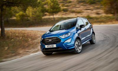 Η Ford Ξεκινά την Ευρωπαϊκή Παραγωγή του Νέου EcoSport στη Ρουμανία για να Ικανοποιήσει την Αυξανόμενη Ζήτηση των Πελατών • Η παραγωγή του νέου Ford EcoSport SUV ξεκινά στην Κραϊόβα της Ρουμανίας, προκειμένου να καλυφθεί η αυξανόμενη ζήτηση των πελατών για μικρά SUV και δημιουργεί νέες θέσεις εργασίας στην Ευρώπη • Η Ford επενδύει μέχρι 200 εκατομμύρια Ευρώ στην Κραϊόβα για την παραγωγή του EcoSport. Η συνολική επένδυση της Ford από το 2008 στην Κραϊόβα ξεπερνά το 1 δισεκατομμύριο ευρώ • Η παραγωγή του νέου EcoSport δημιουργεί 1.700 νέες θέσεις εργασίας στο κορυφαίο εργοστάσιο της Ford στη Ρουμανία. Υπολογίζεται ότι 3.900 εργαζόμενοι θα απασχολούνται στο εργοστάσιο μέχρι το τέλος της χρονιάς. Το EcoSport παραγωγής Κραϊόβα θα πωλείται σε 56 αγορές σε τέσσερις ηπείρους • Το ανανεωμένο Ford EcoSport διαθέτει πιο προηγμένη καμπίνα, έναν ισχυρό, αποδοτικό, νέο κινητήρα 1.5L EcoBlue diesel, Intelligent All Wheel Drive και μία σπορ έκδοση ST-Line Η Ford Motor Company – έχοντας βλέψεις στην ταχύτερα αναπτυσσόμενη κατηγορία οχημάτων στην Ευρώπη – ξεκίνησε την παραγωγή του νέου μικρού SUV, Ford EcoSport, στο εργοστάσιο της Κραϊόβα, στη Ρουμανία. Η απόφαση παραγωγής του νέου EcoSport στην Ευρώπη αντί της συνέχισης της εισαγωγής του από το εργοστάσιο της Ford στο Chennai, Ινδία, θα βοηθήσει τη Ford να ανταποκριθεί στην αυξανόμενη ζήτηση των πελατών. «Το EcoSport είναι ένα ακόμα παράδειγμα του τρόπου με τον οποίο η Ford αξιοποιεί τα δυνατά της μοντέλα για την επέκταση της επιχείρησής της – συμπεριλαμβανομένων των κορυφαίων SUV» δήλωσε ο Steven Armstrong, Ford group vice president & president, Ευρώπης, Μέσης Ανατολής & Αφρικής. «Καθώς αυξάνεται η ζήτηση για το EcoSport, και τα συμπαγή SUV γενικότερα, τώρα είναι η κατάλληλη στιγμή για να δημιουργήσουμε τοπική παραγωγή στην Ευρώπη, προκειμένου να καλύψουμε τις ανάγκες των πελατών μας.» Ο Πρόεδρος της Ρουμανίας Klaus Iohannis, ο Πρωθυπουργός Mihai Tudose και άλλοι ανώτεροι αξιωματούχοι της χώρας και τοπικοί εκπρόσωποι πλαισίωσαν σχε