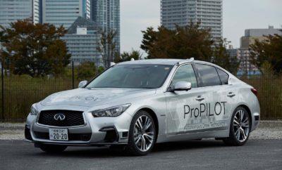 Η Nissan δοκιμάζει σε πρωτότυπο όχημα, την πλήρως αυτόνομη τεχνολογία οδήγησης στους δρόμους του Τόκιο. Η Nissan παρουσίασε ένα πρωτότυπο που ενσωματώνει την πιο προηγμένη τεχνολογία αυτόνομης οδήγησης, που προορίζεται για πραγματική χρήση από το 2020, σε δημόσιους δρόμους στο Τόκιο. Συγκεκριμένα, η Nissan Motor Corp. δοκίμασε την τεχνολογία της επόμενης γενιάς του ProPILOT, σε ένα τροποποιημένο sports sedan INFINITI Q50. Η τεχνολογία επιτρέπει στο όχημα να λειτουργεί αυτόνομα σε αστικούς δρόμους και αυτοκινητόδρομους, από την στιγμή που ο οδηγός επιλέξει έναν προορισμό, χρησιμοποιώντας το σύστημα πλοήγησης, μέχρι την άφιξή του. Η τεχνητή νοημοσύνη του πρωτότυπου χρησιμοποιεί δεδομένα από 12 σόναρ, 12 κάμερες, ραντάρ κυμάτων των εννέα χιλιοστών, έξι σαρωτές λέιζερ, καθώς και από ένα χάρτη υψηλής ανάλυσης για την επεξεργασία σύνθετων σεναρίων σε πραγματικό χρόνο, αλλά και για την ομαλή πλοήγηση στις δύσκολες συνθήκες της πόλης, όπως η διέλευση των πολυσύχναστων διασταυρώσεων. Αυτές οι αναβαθμίσεις του υλικού, μαζί με τις βελτιώσεις του λογισμικού, εξασφαλίζουν την ομαλή μετάβαση, ακόμα και όταν το όχημα συναντά εμπόδια στο δρόμο, οδηγώντας σε μια αίσθηση οδήγησης που μοιάζει με αυτή του ανθρώπου, απαλλάσσοντας τους επιβάτες από το ανάλογο στρες. Η συγκεκριμένη επίδειξη ακολουθεί το πρόσφατο λανσάρισμα του νέου Nissan LEAF, του αμιγώς ηλεκτροκίνητου αυτοκινήτου μηδενικών εκπομπών, που διαθέτει την τεχνολογία ProPILOT. Τα μοντέλα της Nissan που προβλέπεται να διαθέτουν το ProPILOT, περιλαμβάνουν τα Serena, X-Trail και Qashqai (από το 2018). Παρακολουθήστε σχετικά videos με το αυτόνομο όχημα της Nissan στους δρόμους στο Τόκιο, στους ακόλουθους συνδέσμους : https://youtu.be/RFa3um5sH3E & https://youtu.be/zzoV5IGH5pU