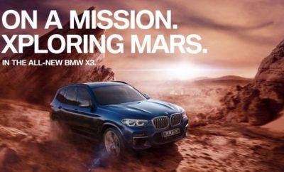 """Η νέα BMW X3 θα κυκλοφορήσει το Νοέμβριο, λίγο μετά την παγκόσμια πρεμιέρα της στη Διεθνή Έκθεση Αυτοκινήτου της Φρανκφούρτης (ΙΑΑ). Μία εκτενής καμπάνια με τίτλο """"On a Mission"""" θα συνοδεύει το λανσάρισμα του επιτυχημένου μοντέλου. Από τα αξιοσημείωτα της καμπάνιας θα είναι ένα συναρπαστικό, τηλεοπτικό σποτ με αθλητές extreme sports και ένα εικονικό test drive 360° στον Άρη, ως συνέχεια της καμπάνιας σε ψηφιακά κανάλια. Η καμπάνια """"On a Mission"""" παρουσιάζει τον απελευθερωμένο και ανεξάρτητο χαρακτήρα της BMW X3 που είναι πάντα έτοιμη να καταρρίπτει τα όρια. Το θέμα του 'τολμώ εκτός της πεπατημένης' και 'ανακαλύπτω νέους ορίζοντες' υπογραμμίζεται από τον off-road χαρακτήρα του SAV και τις επαναστατικές καινοτομίες του. Βασική ιδέα είναι το πάθος που μετουσιώνει μία ενασχόληση ή ένα χόμπι σε αποστολή. Αυτή η έμφαση στο συναίσθημα είναι κοινό χαρακτηριστικό σε όλη την καμπάνια: Η BMW τιμά τους ανθρώπους που κυνηγούν τα όνειρά τους με ασίγαστο πάθος – αφοσιωμένοι σε μία αποστολή. Το """"'On a Mission' υμνεί το πάθος για τη ζωή, την εσωτερική παρόρμηση και την αληθινή αφοσίωση. Η BMW X3 φέρνει αυτή τη δυναμική αίσθηση στον κόσμο του αυτοκινήτου και εγγυάται μία συναρπαστική οδηγική εμπειρία, ανεξάρτητα πού σε οδηγεί το πάθος σου"""" εξηγεί η Hildegard Wortmann, Ανώτερη Αντιπρόεδρος, της Μάρκας BMW. Από την ιδέα στα πολυμέσα: Μεγάλα δεδομένα υποστηρίζουν τη δημιουργία της καμπάνιας. Η δημιουργία της καμπάνιας ξεκίνησε με μία ευρείας κλίμακας, διεπιστημονική ανάλυση μεγάλων δεδομένων, για τη συγκέντρωση και αξιολόγηση πληροφοριών από διαφορετικές ομάδες αγοραστών της BMW X3. Μέσα από αυτή την ανάλυση, δόθηκε η ευκαιρία στη BMW να μελετήσει τα ενδιαφέροντα και τη χρήση πολυμέσων των μελλοντικών πελατών της, ήδη από τη δημιουργική φάση της καμπάνιας. Σαν αποτέλεσμα, η καμπάνια της BMW X3 προσφέρει εξαιρετικά σχετικό περιεχόμενο που προσελκύσει έναν νεανικό και δυναμικό ψηφιακό κοινό και ταιριάζει τέλεια στην καθημερινή του πραγματικότητα. Ωστόσο, η παρουσίαση μέσα από τα κατάλληλα"""