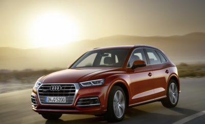 Το Audi Q5 βραβεύεται με το «Χρυσό Τιμόνι 2017» • Το μεγάλο SUV της Audi κατακτά ένα από τα πιο σημαντικά βραβεία στο χώρο της αυτοκινητοβιομηχανίας • Ξεχώρισε απέναντι στον ανταγωνισμό στην κατηγορία των Μεγάλων SUV Πριν καν συμπληρώσει ένα χρόνο από το λανσάρισμά του, το νέο Audi Q5 κατακτά ένα από τα πλέον περιζήτητα βραβεία στην αυτοκινητοβιομηχανία: στο μεγάλο SUV της Audi απονεμήθηκε το «Χρυσό Τιμόνι 2017» (στα Γερμανικά: Das Goldene Lenkrad 2017). Το βραβείο απονέμεται από το περιοδικό αυτοκινήτου «Auto Bild» και την εφημερίδα «Bild am Sonntag». Οι τελικοί νικητές αναδεικνύονται μέσα από μία επίπονη διαδικασία, που περιλαμβάνει τόσο την ψηφοφορία των αναγνωστών των εντύπων – και των θυγατρικών τους εκδόσεων - σε 20 διαφορετικές ευρωπαϊκές χώρες όσο και δοκιμασία σε πίστα, από ειδικούς διαφόρων κατηγοριών. Το Audi Q5 ξεχώρισε ανάμεσα σε οκτώ ανταγωνιστικά μοντέλα χάρη σε μερικά μοναδικά χαρακτηριστικά του, που θέτουν νέα στάνταρντ στην κατηγορία του: τον καλύτερο αεροδυναμικό συντελεστή, μελετημένο design που εξασφαλίζει εξοικονόμηση βάρους, ευρεία γκάμα οικονομικών και συνάμα ισχυρών κινητήρων και το πιο εξελιγμένο σύστημα τετρακίνησης Quattro. Επιπρόσθετα, ο οδηγός έχει στη διάθεσή του τα πιο προηγμένα συστήματα υποβοήθησης για την άνεση και ασφάλειά του, παράλληλα με hi-tech σύνολα ενημέρωσης/ψυχαγωγίας, κορυφαία επίπεδα συνδεσιμότητας και, τέλος, μία εξελιγμένη αερανάρτηση με δυνατότητα ρύθμισης από τον οδηγό του βαθμού απόσβεσης. Σε μία λαμπρή εκδήλωση στο Βερολίνο, εκ μέρους της Audi AG το βραβείο παρέλαβε ο Δρ. Πέτερ Μέρτενς (Peter Mertens), μέλος του Δ.Σ. της Audi για την Τεχνική Ανάπτυξη, ο οποίος δήλωσε σχετικά: «Η εξειδικευμένη γνώση που διαθέτουν τα μέλη της επιτροπής καθώς και η φήμη του σε όλη την Ευρώπη, έχουν καταστήσει αυτό το βραβείο ένα από τα σημαντικότερα στον κλάδο μας. Το βραβείο αυτό είναι μία ακόμα απόδειξη ότι έχουμε παρουσιάσει ένα αυτοκίνητο που θα ξεπεράσει την πρώτη γενιά του μοντέλου, κάτι που μας γεμίζει υπερηφάνεια.» Στο αρχικό