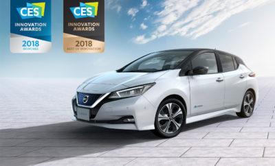 Το νέο Nissan LEAF κερδίζει το πρώτο του διεθνές βραβείο ! Το νέο Nissan LEAF έλαβε κορυφαία τιμητική διάκριση στην τελετή παρουσίασης του φετινού CES (Consumer Electronics Show), που διεξήχθη από την Ένωση Τεχνολογιών Καταναλωτών (CES). Με την ανακοίνωση των βραβευθέντων με το βραβείο καλύτερης καινοτομίας για το 2018, που συγκροτείται από ένα πλήθος εμπειρογνωμόνων της τεχνολογίας στη Νέα Υόρκη, το νέο, μηδενικών εκπομπών ρύπων Nissan LEAF, κέρδισε το πρώτο του σημαντικό διεθνές βραβείο. Φυσικά, η Nissan στοχεύει σε ακόμα περισσότερα στο μέλλον. Ως επιβεβαίωση της κορυφαίας επένδυσης της Nissan στην καινοτομία, το 100% ηλεκτροκίνητο Nissan LEAF, που μεταξύ άλλων διαθέτει τις τεχνολογίες ProPILOT και e-Pedal, έλαβε τις ακόλουθες τιμητικές διακρίσεις : • Βραβείο CES Best of Innovation, για τις τεχνολογίες ευφυΐας και αυτόνομης οδήγησης, • Τιμητικό Βραβείο CES για την τεχνολογία που προωθεί την προσπάθεια για έναν καλύτερο κόσμο. Κάθε χρόνο, η Ένωση Τεχνολογίας Καταναλωτών ανακοινώνει τους νικητές του θεσμού CES Best of Innovation, γεγονός που αποτελεί αναπόσπαστο κομμάτι της μεγάλης έκθεσης CES του Ιανουαρίου στο Λας Βέγκας. Για τον λόγο αυτό, η Nissan και η Ένωση θα βάλουν σε περίοπτη θέση ένα εκθεσιακό νέο Nissan LEAF, στη διοργάνωση του 2018. Το νέο Nissan LEAF προσφέρει ένα συναρπαστικό πακέτο καθημερινών χρήσιμων καινοτομιών και τεχνολογιών σε περισσότερους ανθρώπους, σε παγκόσμια κλίμακα, από ό, τι έχει κάνει οποιοδήποτε ηλεκτρικό όχημα πριν. Πρόσθετες δυνατότητες, όπως η τεχνολογία οχήματος-πλέγματος (V2G), θα επιτρέπουν στους ιδιοκτήτες του να διαχειρίζονται την ενέργεια στο σπίτι και στο αυτοκίνητο με τον πλέον βέλτιστο τρόπο. Το νέο Nissan LEAF διατίθεται προς πώληση στην Ιαπωνία, ενώ θα βρίσκεται στις εκθέσεις της Nissan στις Η.Π.Α. και τον Καναδά, στους επόμενους δύο μήνες. Στη Δυτική Ευρώπη η παραγωγή ξεκινάει τον ερχόμενο Δεκέμβριο, ενώ στην Ελλάδα θα είναι διαθέσιμο τον Μάιο του 2018. Αξίζει να σημειωθεί ότι η Nissan Νικ. Ι. Θεοχαράκης Α.Ε., θα έχει σ
