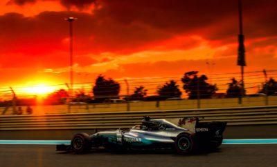 "Η σεζόν του 2017 ολοκληρώθηκε με νίκη του οδηγού της Mercedes, Valtteri Bottas. O Φινλανδός ακολούθησε στρατηγική μιας αλλαγής από πάρα πολύ μαλακή, σε πολύ μαλακή γόμα. Η συντριπτική πλειονότητα των οδηγών ακολούθησαν την ίδια στρατηγική. Η φθορά και η πτώση στην απόδοση λόγω θερμικής καταπόνησης ήταν μικρές στην λεία επιφάνεια ασφάλτου της Yas Marina, ειδικά ενόσω η θερμοκρασία έπεφτε καθώς νύχτωνε. Μόνο τρεις οδηγοί εκκίνησαν με την πολύ μαλακή γόμα. Ο οδηγός της Williams, Lance Stroll ήταν ο μόνος που έκανε παραπάνω από ένα πιτ στοπ: Συγκεκριμένα πραγματοποίησε τρία συνολικά. MARIO ISOLA – ΕΠΙΚΕΦΑΛΗΣ ΑΓΩΝΩΝ ΑΥΤΟΚΙΝΗΤΟΥ ""Δεν υπήρξαν εκπλήξεις κατά τη διάρκεια του τελευταίου αγώνα της χρονιάς. Ο Bottas άξιζε τη νίκη. Εκκίνησε από την pole και ακολούθησε στρατηγική μιας αλλαγής. Ερχόμενοι σ' αυτό τον αγώνα πιστεύαμε ότι θα υπάρχει ευρύ παράθυρο για την αλλαγή ελαστικών και αυτό επαληθεύτηκε. Είδαμε μερικές ομάδες να προσπαθούν να κερδίσουν θέσεις στην πίστα προλαβαίνοντας στην αλλαγή τους αντιπάλους τους. Κανείς όμως δεν τα κατάφερε μ' αυτή την τακτική. Η προσοχή μας τώρα επικεντρώνεται στο 2018, οι οδηγοί παραμένουν στη Yas Marina για να δοκιμάσουν για πρώτη φορά τη νέα γκάμα ελαστικών που παρουσιάσαμε την Πέμπτη. Ειδικά οι πιο μαλακές γόμες ταιριάζουν στη συγκεκριμένη πίστα και θα έχει πολύ ενδιαφέρον να δούμε πως θα συμπεριφερθεί εδώ η εξαιρετικά μαλακή γόμα 'hypersoft'. Όσα θα μάθουμε στις δοκιμές αυτές θα επηρεάσουν τις επιλογές ελαστικών που θα κάνουμε για τη νέα χρονιά. "" ΚΑΛΥΤΕΡΟΙ ΧΡΟΝΟΙ ΑΝΑ ΓΟΜΑ - Bottas 1m40.650s Stroll 1m42.324s - Vettel 1m40.770s Hamilton 1m42.421s - Hamilton 1m41.473s Bottas 1m42.439s ΜΕΓΑΛΥΤΕΡΗ ΑΠΟΣΤΑΣΗ ΣΤΟΝ ΑΓΩΝΑ ΓΟΜΑ ΟΔΗΓΟΣ ΓΥΡΟΙ ΜΑΛΑΚΗ - - ΠΟΛΥ ΜΑΛΑΚΗ Vandoorne 42 ΠΑΡΑ ΠΟΛΥ ΜΑΛΑΚΗ Grosjean 32 ΜΕΤΡΗΤΗΣ ΑΛΗΘΕΙΑΣ Ο Valtteri Bottas πραγματοποίησε τη μοναδική του αλλαγή από πάρα πολύ μαλακή σε πολύ μαλακή γόμα στον 21ο γύρο. Την ίδια στρατηγική ακολούθησαν οι πρώτοι 13 στην τελική κατάταξη."