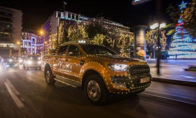 Το Ford Ranger «ντύθηκε» Άγιος Βασίλης
