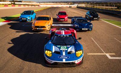 Μοντέλα της Ford Performance μάχονται για τη νίκη στην πίστα Motorland Πρόκειται για την απόλυτη αναμέτρηση στην πίστα: οκτώ μοντέλα από τη γκάμα της Ford Performance για πρώτη φορά μαζί στην πίστα με τους οδηγούς της Ford Chip Ganassi Racing Team να τα πιέζουν στο όριο. Στο νέο βίντεο της Ford Performance που γυρίστηκε στην πίστα Motorland της Βαρκελώνης, τα Ford F-150 Raptor και Fiesta ST, το ολοκαίνουργο Fiesta ST, το Focus RS, η νέα Mustang GT, η Mustang GT350R, το Ford GT παραγωγής και το αγωνιστικό Ford GT σε μία μεταξύ τους χρονομέτρηση σε ένα και μόνο γύρο στο σιρκουί των 5,345 χιλιομέτρων. Τα γυρίσματα έγιναν σε συνεργασία με την Castrol Edge σε διάστημα μόλις τεσσάρων ωρών, κατά τη διάρκεια δοκιμών ελαστικών του αγωνιστικού Ford GT με τη συμμετοχή οκτώ οδηγών της Ford Chip Ganassi Racing Team εν' όψει της νέας αγωνιστικής σεζόν. Οι οκτώ οδηγοί ήταν οι Andy Priaulx, Harry Tincknell, Olivier Pla και Stefan Mücke που συμμετέχουν στο Παγκόσμιο Πρωτάθλημα Αντοχής WEC, καθώς και οι Dirk Müller, Joey Hand, Richard Westbrook και Ryan Briscoe που συμμετέχουν στο Αμερικανικό Πρωτάθλημα IMSA WeatherTech SportsCar. Ο καθένας τους ανέλαβε να οδηγήσει ένα συγκεκριμένο μοντέλο Ford Performance, ξεκινώντας μάλιστα από διαφορετικό σημείο της πίστας. Το αποκορύφωμα ήταν μία μάχη ανάμεσα στα οκτώ αυτοκίνητα στην τελευταία στροφή και στην ευθεία τερματισμού. Η συγκεκριμένη αναμέτρηση ήταν η πρώτη και προφανώς μοναδική ευκαιρία για ένα Fiesta ST να αναμετρηθεί με το νικητή του Le Mans, το αγωνιστικό Ford GT. Στα γυρίσματα της αναμέτρησης χρησιμοποιήθηκαν τρία κινηματογραφικά συνεργεία, ένα drone και 16 κάμερες GoPro ενώ οι μάχες στην πίστα καταγράφηκαν σε εικόνα υψηλής ανάλυσης 4K από ένα ειδικά διασκευασμένο Ford Fiesta ST σε ρόλο camera car. Τα μοντέλα της Ford Performance, είτε πρόκειται για εξελιγμένα pickup, είτε για καθαρόαιμα αγωνιστικά αυτοκίνητα με δάφνες στο Le Mans, διαθέτουν μοναδικά χαρακτηριστικά αλλά παράλληλα μοιράζονται προηγμένες τεχνολογίες που συνεπάγονται 