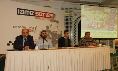 IAME Series Greece 2018 Μία νέα εποχή για το karting στην Ελλάδα ξεκινά φέτος, με τη διεξαγωγή του νεοσύστατου IAME Series Greece! Ενός νέου θεσμού που στοχεύει στο να προσελκύσει νέους ενδιαφερόμενους στο σπορ, έχοντας ως ατού το χαμηλό κόστος συμμετοχής που μπορεί να αφορά ακόμα και απλή ενοικίαση του εξοπλισμού, τα εντυπωσιακά έπαθλα, τον έντονο ανταγωνισμό αλλά και τις ίσες ευκαιρίες, καθώς ειδικά στην κατηγορία Mini υπάρχει κεντρική διαχείριση κινητήρων. Πράγμα που συμβαίνει για πρώτη φορά στην Ελλάδα! Το IAME Series είναι ένα αγωνιστικό πρόγραμμα που διεξάγεται σε περισσότερες από 25 χώρες, όντας το πιο διαδεδομένο και πιο επιτυχημένο στο παγκόσμιο karting! Λαμβάνει χώρα υπό την ομπρέλα της IAME, μίας εταιρείας με 50 χρόνια ιστορίας, που αποτελεί οδηγό στις τεχνολογικές εξελίξεις σε ότι αφορά στους κινητήρες του σπορ! Έχει αναδείξει ταλέντα που μετέπειτα έκαναν σπουδαία καριέρα, όπως οι παγκόσμιοι πρωταθλητές της Formula 1 Fernando Alonso, Kimi Raikkonen, Lewis Hamilton και Nico Rosberg. Μέσω του IAME Series Greece, θα αναδείξει τώρα τα μεγαλύτερα ταλέντα από τη χώρα μας! Το IAME Series Greece παρουσιάστηκε στους εκπροσώπους του Τύπου, με τον αγωνιστικό διευθυντή του θεσμού Τάκη Καϊτατζή και τον τεχνικό διευθυντή Κώστα Μιχαλόπουλο να αναλύουν όσα θα δούμε φέτος στις πίστες. Την IAME εκπροσώπησε ο marketing manager Marco Moretti ενώ χαιρετισμό στη νέα προσπάθεια έκανε και ο πρόεδρος της ΟΜΑΕ, Δημήτρης Μιχελακάκης. Η πρώτη σεζόν του IAME Series Greece περιλαμβάνει τέσσερις γύρους, τρεις εκ των οποίων λαμβάνουν χώρα στην πίστα «Kartodromo» στην Αθήνα και ένας στην πίστα Kartmania στην Πάτρα. ΚΑΤΗΓΟΡΙΕΣ IAME SERIES GREECE X30 Mini A (11 – 12 ετών) / X30 Mini B (8 – 10 ετών) Κοινοί αγώνες με γενική κατάταξη & ξεχωριστή για την X30 MINI B X30 Junior (12 – 14 ετών) X30 Senior (Από 14 ετών) / X30 Master (Από 30 ετών) Κοινοί αγώνες με γενική κατάταξη και ξεχωριστή για την X30 Master X30 Super Pro (Από 15 ετών) / X30 SuperMaster (Από 30 ετών) Κοινοί αγώνες με γενική κατ