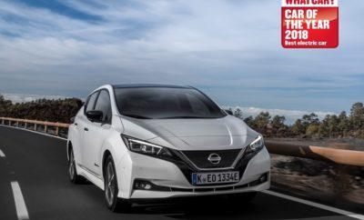 """Βραβείο """"Best Electric Car"""" για το Nissan LEAF στoν θεσμό των What Car? Awards Το ολοκαίνουργιο Nissan LEAF, κατέκτησε τον τίτλο του """"Καλύτερου Ηλεκτρικού Αυτοκίνητου"""" στον θεσμό των βραβείων του """"What Car?"""". To """"What Car?"""" είναι ένα από τα πιο αναγνωρισμένα και έγκριτα βραβεία μεταξύ των αγοραστών αυτοκινήτων στην Ευρώπη. Είναι επίσης ένα από τα μεγαλύτερα εμπορικά σήματα του Ηνωμένου Βασιλείου, που θεωρείται ευρέως ως μια αξιόπιστη πηγή σύστασης αγοράς ενός νέου αυτοκίνητου. Ο Steve Huntingford, Εκδότης του """"What Car?"""", εξήρε το βραβευμένο μοντέλο, λέγοντας: """"Η αγορά ηλεκτρικών αυτοκινήτων δεν ήταν ποτέ πιο ανταγωνιστική. Ωστόσο το LEAF έβγαλε εκτός διαδικασίας όλους τους αντιπάλους του, διότι έχει περισσότερη σημασία για την πλειοψηφία των αγοραστών. Συνδυάζει εξαιρετική απόδοση με γενναιόδωρο βασικό εξοπλισμό και χαμηλό κόστος λειτουργίας. Ακόμα και σε χειμερινό κλίμα, η πραγματική του εμβέλεια είναι καλή. """" Η αγορά των EV στο Ηνωμένο Βασίλειο αυξάνεται συνεχώς και σήμερα αντιπροσωπεύει το ένα πέμπτο περίπου των πωλήσεων του LEAF στην Ευρώπη. Πρόσφατα η Nissan αποκάλυψε ότι μόλις τρεις μήνες από την στιγμή της ανακοίνωσης της νέου LEAF, έχει ήδη λάβει πάνω από 12.000 παραγγελίες για το νέο μοντέλο. Αυτό σημαίνει μια πώληση κάθε 12 λεπτά στην Ευρώπη. Επιπλέον, το xStorage της Nissan πήρε """"Έπαινο"""" στην κατηγορία """"Technology Award"""", ως αναγνώριση των καινοτόμων τεχνολογικών εξελίξεων. Το σύστημα xStorage της Nissan χρησιμοποιεί ανακυκλωμένες μπαταρίες από ηλεκτρικά οχήματα, επιτρέποντας στους χρήστες να αποθηκεύουν ισχύ όταν οι τιμές του δικτύου είναι χαμηλές, όπως και να πωλούν την υπερβάλλουσα ισχύ από το LEAF, πίσω στο ενεργειακό δίκτυο. Ο Philippe Saillard, Ανώτερος Αντιπρόεδρος πωλήσεων και μάρκετινγκ της Nissan Europe, δήλωσε: """"Το νέο Nissan LEAF είναι το πιο προηγμένο και προσιτό, 100% ηλεκτροκίνητο όχημα στον πλανήτη. Είμαστε ενθουσιασμένοι για αυτή τη διάκριση από το περίφημο """"What Car?"""". Πρόκειται για ένα αυτοκίνητο που είναι πιο απολαυστικό, πιο συνδεδεμ"""