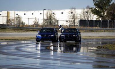Η νέα BMW M 5 σημείωσε Παγκόσμιο Ρεκόρ Γκίνες για το μεγαλύτερης διάρκειας drift στην ιστορία, πλαγιολισθαίνοντας συνεχώς επί 8 ώρες και ένα δεύτερο ρεκόρ για το μεγαλύτερο ταυτόχρονο drift δύο οχημάτων. Ο εκπαιδευτής της BMW Johan Schwartz ντρίφταρε συνεχώς επί 232,5 μίλια (374,2 km ). Ο Schwartz και ο Επικεφαλής Εκπαιδευτής του BMW Performance Center , Matt Mullins , εκτέλεσαν ένα ταυτόχρονο drift επί 49,25 μίλια (79,3 km ) σε μία ώρα. Για την υποστήριξη του εγχειρήματος διαμορφώθηκε ειδικό σύστημα ανεφοδιασμού, που επέτρεπε τον ανεφοδιασμό εν κινήσει. Η νέα BMW M5 (κατανάλωση μικτού κύκλου: 10,5 l/100 km*, εκπομπές CO2 στο μικτό κύκλο: 241 g/km*) σπάει το ένα ρεκόρ μετά το άλλο: στις 11 Δεκεμβρίου 2017, ο εκπαιδευτής Johan Schwartz εκτέλεσε ένα συνεχόμενο drift διάρκειας οκτώ ωρών στο BMW Performance Center στο Greer, Νότια Καρολίνα, με τη νέα BMW M5, καλύπτοντας ακριβώς 232,5 μίλια (374,2 km) στο λεγόμενο skid pad (πίστα ολίσθησης). Το επίτευγμα χάρισε στην BMW M5 μία θέση στο βιβλίο Παγκόσμιων Ρεκόρ Γκίνες για το μεγαλύτερο σε διάρκεια ντριφτάρισμα που έχει καταγραφεί στην ιστορία. Ο Schwartz συνέτριψε όλα τα προηγούμενα ρεκόρ κατά 143 μίλια (230,1 km). Ένα ειδικό σύστημα ανεφοδιασμού που διαμόρφωσε η BMW σε συνεργασία με την εταιρία Detroit Speed (έδρα Ν. Καρολίνα) έκανε εφικτό το ντριφτάρισμα χωρίς διακοπή όλο το οκτάωρο, σύμφωνα με τις απαιτήσεις του θεσμού Γκίνες. Έτσι, ο ανεφοδιασμός της BMW M5 όσο διαρκούσε η πλαγιολίσθηση έγινε με τον ίδιο τρόπο που ανεφοδιάζονται τα μαχητικά αεροπλάνα εν κινήσει – αν και στην περίπτωση της M5 η διαδικασία έγινε με το χέρι: μία δεύτερη BMW M5 με οδηγό τον Επικεφαλής Εκπαιδευτή του BMW Performance Center, Matt Mullins, συνόδευσε την κάτοχο του ρεκόρ, M5. Ο Mullins προσαρμόστηκε στην ταχύτητα ντριφταρίσματος του Schwartz, βοηθώντας τον Matt Butts της Detroit Speed να κάνει τον ανεφοδιασμό, ασφαλισμένος με ειδικό ιμάντα που του επέτρεψε να αιωρείται στο χώρο μεταξύ των δύο κινούμενων οχημάτων, βγαίνοντας από το πίσω παράθυρ