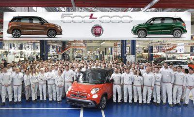 """Το 500.000στο Fiat 500L βγαίνει από τη γραμμή παραγωγής! • Το αυτοκίνητο ορόσημο είναι ένα Fiat 500L Cross 1.6 MultiJet 120 HP, σε δίχρωμο Sicilia Orange με γυαλιστερή μαύρη οροφή. • Με πρώτη εμφάνιση το 2012 και ανανεωμένη από το 2017, το μοντέλο έχει παραμείνει για πέντε συνεχόμενα χρόνια σταθερό στην κορυφή της κατηγορίας του στην Ευρώπη και είναι ο απόλυτος ηγέτης στην Ιταλία και την Ισπανία. • Συνολικά από το 2017, το Fiat 500L έχει κερδίσει μερίδιο αγοράς περίπου 22% στην Ευρώπη, έχοντας υπερβεί στην Ιταλία, το 52%! Τον Ιανουάριο του 2018, οι πωλήσεις στην Ευρώπη σημείωναν αύξηση 5% σε σύγκριση με τον αντίστοιχο περσινό μήνα. . • Ιδανικό για μοντέρνες οικογένειες, το Fiat 500L με μότο του """"Cool & Capable"""" συνδυάζει το εμβληματικό στιλ του 500 και τη λειτουργικότητα του σχεδιασμού Made in Fiat. Το 500.000στο Fiat 500L βγήκε σήμερα από τη γραμμή παραγωγής στο εργοστάσιο του Kragujevac, στη Σερβία. Το αυτοκίνητο ορόσημο είναι ένα 500L Cross 1.6 MultiJet 120 HP, σε δίχρωμο Sicilia Orange με γυαλιστερή μαύρη οροφή. Το νέο ρεκόρ επιβεβαιώνει την επιτυχία που έχει γνωρίσει το μοντέλο από το λανσάρισμα του το 2012. Αξίζει να σημειωθεί ότι το μοντέλο έχει παραμείνει σταθερά στην κορυφή της κατηγορίας του στην Ευρώπη για πέντε συνεχόμενα χρόνια και είναι ο απόλυτος ηγέτης στην Ιταλία και την Ισπανία. Λαμβάνοντας υπόψη συνολικά το 2017, το Fiat 500L κέρδισε ένα μερίδιο αγοράς περίπου 22% στην Ευρώπη, έχοντας υπερβεί το 52% στην Ιταλία. Τα νέα Cross και City Cross που λανσαρίστηκαν τον περασμένο χρόνο, προέβαλαν με εντυπωσιακό τρόπο την crossover προσωπικότητα του μοντέλου, συνεισφέροντας με τη σειρά τους στα τα εξαιρετικά αποτελέσματα. Οι πωλήσεις, από τον πρώτο μήνα του 2018, εμφανίζονται επίσης θετικές στην Ευρώπη, σημειώνοντας αύξηση 5% ενώ στην Ιταλία το μερίδιο αγοράς ήταν υψηλότερο του 50% στην κατηγορία του. Για να επιβεβαιώσει και πάλι την ηγετική του θέση στην αγορά, το Fiat 500L ανανεώθηκε το 2017 και είναι πλέον πιο ευρύχωρο, πιο τεχνολογικό και πιο πλήρες δια"""