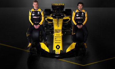 Αποκάλυψη για την R.S.18 Η Renault Sport Formula One Team, αποκαλύπτει το μονοθέσιό της για την αγωνιστική σαιζόν του 2018. Η Renault Sport Formula One Team, αποκάλυψε μέσω του διαδικτύου την R.S. 18, το μονοθέσιο με το οποίο η ομάδα θα συμμετέχει στο Παγκόσμιο Πρωτάθλημα της Formula 1 το 2018. Η R.S. 18 αποτελεί το τρίτο μονοθέσιο με το οποίο η ομάδα συμμετέχει στη Formula 1, μετά την επιστροφή της σε επίπεδο πλήρους εμπλοκής το 2016. Το νέο μονοθέσιο αποτελεί εξέλιξη των ιδεών που ανέπτυξε η ομάδα κατά την προηγούμενη αγωνιστική χρονιά και περιλαμβάνει εκτός των άλλων, νέο σύστημα ανάρτησης, καθώς και αναβαθμισμένη αεροδυναμική απόδοση. Παράλληλα η R.S. 18 εφοδιάζεται με το υποχρεωτικό σύστημα ασφάλειας Halo, καθώς και διαφοροποιήσεις στη μονάδα ισχύος ώστε να ακολουθεί τους νέους τεχνικούς κανονισμούς. Ο υπερτροφοδοτούμενος V6 κινητήρας εσωτερικής καύσης των 1.6 λίτρων της Renault έχει αναβαθμιστεί μέσω ενός εξαντλητικού προγράμματος δοκιμών στο δυναμόμετρο στη βάση της ομάδας στο Viry-Châtillon, έτσι ώστε να βελτιστοποιηθεί η απόδοσή του και παράλληλα η αντοχή του. Στόχος να είναι έτοιμος για τον περιορισμό στους 3 κινητήρες εσωτερικής καύσης (ICE) και τις δύο μονάδες παραγωγής ενέργειας MGU-K ανά χρονιά. Η R.S. 18 εξελίχθηκε σε συνεργασία των δύο εγκαταστάσεων της Renault Sport Formula One Team, στο Enstone της Αγγλίας και στο Viry της Γαλλίας. Οι εγκαταστάσεις στο Enstone αναβαθμίστηκαν σημαντικά τα τελευταία χρόνια με αλλαγές στην αεροδυναμική σήραγγα, τα εργαστήρια, το δυναμόμετρο συστημάτων μετάδοσης, αλλά και συνολικά το τμήμα σχεδιασμού. Αυτές οι αλλαγές έχουν αρχίσει ήδη να αποδίδουν με την ομάδα να κατακτά την 6η θέση στο Παγκόσμιο Πρωτάθλημα το 2017, σε σχέση με την 9η θέση του 2016. Οι δύο οδηγοί της ομάδας, Nico Hülkenberg και Carlos Sainz, θα οδηγήσουν για πρώτη φορά το νέο μονοθέσιο, με το οποίο θα συμμετέχουν στο πρωτάθλημα του 2018, στις δοκιμές που θα πραγματοποιηθούν στην πίστα της Βαρκελώνης. Τρίτος οδηγός της ομάδας θα είναι ο 23χρονος Βρεταν