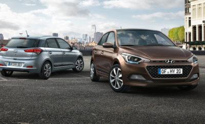 Μοναδικό επιτόκιο Χρηματοδότησης 1,9% Σας ενημερώνουμε ότι η Hyundai κάνει σήμερα την απόκτηση του νέου Hyundai i20 ασύγκριτα εύκολη προσφέροντας ένα νέο μοναδικό πρόγραμμα προνομιακής χρηματοδότησης με 1,9% επιτόκιο και 48 μήνες εξόφληση με προκαταβολή 30%. Εναλλακτικά, προνομιακή χρηματοδότηση με μικρότερη προκαταβολή και περισσότερους μήνες εξόφληση είναι επίσης εφικτή με επιτόκιο μόλις 2,9%. Πιο αναλυτικά τα προγράμματα προνομιακής χρηματοδότησης του i20 που προσφέρονται είναι τα ακόλουθα: Χρηματοδοτικό Πρόγραμμα 1.9% • Επιτόκιο 1,9% (πλέον εισφ.0,6% Ν.128/1975) • Ελάχιστη προκαταβολή 30% • Μέγιστη περίοδος εξόφλησης 48 μήνες Χρηματοδοτικό Πρόγραμμα 2.9% • Επιτόκιο 2,9% (πλέον εισφ.0,6% Ν.128/1975) • Ελάχιστη προκαταβολή 25% • Μέγιστη περίοδος εξόφλησης 60 μήνες