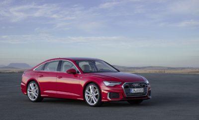 ΔΕΛΤΙΟ ΤΥΠΟΥ Αργυρούπολη, 2 Μαρτίου 2018 Νέο Audi A6: η Audi συρρίκνωσε το A8! • Με την παρουσίαση του νέου Α6, η Audi στοχεύει κατευθείαν στην κορυφή της κατηγορίας, μεταφέροντας αυτούσια όλη την τεχνολογία του Α8 στην κατηγορία Business • Νέα στάνταρντ οδηγικής απόλαυσης και άνεσης, με σύστημα δυναμικής τετραδιεύθυνσης • Το κορυφαίο στον κόσμο εσωτερικό με πλήρη ψηφιοποίηση όλων των συστημάτων μέσω δύο οθονών αφής στην κεντρική κονσόλα, που προσφέρουν απτική και ηχητική ανάδραση • Για πρώτη φορά στην κατηγορία mild-hybrid τεχνολογία σε όλη την γκάμα κινητήρων • Κορυφαία τεχνολογία LED φωτισμού απογειώνει ένα δυναμικό, σπορ design Παρουσιάζοντας την 8η γενιά του επιτυχημένου μεγάλου της σεντάν, η Audi κάνει προσιτή την τεχνολογία του Α8, της μεγάλης ναυαρχίδας και κορυφαίου τεχνολογικά σεντάν της, σε πιο ευρύ κοινό. Το ολοκαίνουργιο Audi A6 θέτει νέα στάνταρντς στην κατηγορία του, με κορυφαία τεχνολογία, από σύστημα δυναμικής τετραδιεύθυνσης έως mild-hybrid υλοποίηση, ενώ παράλληλα οι εκτεταμένες δυνατότητες διασύνδεσης και τα συστήματα ασφάλειας και υποβοήθησης που έχει στη διάθεσή του ο οδηγός, το τοποθετούν πολύ πάνω από οποιοδήποτε ανταγωνισμό. O εξωτερικός σχεδιασμός – κομψός και hi-tech Ακριβώς όπως τα A8 και A7 Sportback, έτσι και το A6 είναι ο εκφραστικός πρεσβευτής της νέας σχεδιαστικής γλώσσας της Audi. Με καθαρές επιφάνειες, έντονες γωνίες και εντυπωσιακές γραμμές, το νέο business sedan κάνει σαφή το χαρακτήρα του: σπορ κομψότητα, υψηλή τεχνολογία και σοφιστικέ παρουσία. Το εξωτερικό του ξεχωρίζει με τις ισορροπημένες αναλογίες του: μακρύ καπό, μεγάλο μεταξόνιο και μικροί πρόβολοι. Η φαρδιά, επιβλητική Singleframe μάσκα, οι ιδιαίτεροι προβολείς και οι δυναμικές εισαγωγές αέρα αποπνέουν σπορ χαρακτήρα. Στο προφίλ, οι τρεις έντονες γραμμές μειώνουν οπτικά το ύψος του αυτοκινήτου, ενώ οι τονισμένοι θόλοι των τροχών είναι μια σαφής αναφορά στα γονίδια του Audi quattro. Τετραδιεύθυνση – αμεσότητα ενός σπορ μοντέλου με ευελιξία ενός μικρού αυτοκινήτου Το νέο A