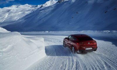 Η νέα BMW X4 (κατανάλωση μικτού κύκλου: 9.0 –5.4 l/100 km, εκπομπές CO2 στο μικτό κύκλο: 209 –142 g/km) κάνει επίδειξη ισχύος πριν την επίσημη παρουσίασή της στο 88ο Διεθνές Σαλόνι Αυτοκινήτου της Γενεύης, αφού θα ταξιδέψει από Μόναχο μέσω Νταβός προς Γενεύη, για να γιορτάσει την παγκόσμια πρεμιέρα της. Fl ü ela Pass Davos : η κορυφή της δυναμικής οδήγησης. Όλοι οι σταθμοί από όπου θα περάσει στο πρώτο της ταξίδι, σχεδιάστηκαν για να αναδείξουν τα δυνατά σημεία της νέας BMW X4. Πρώτος σταθμός στο road book είναι το Πέρασμα Flüela. Σ' αυτή την ορεινή και γεμάτη στροφές διαδρομή που διασχίζει τις Ελβετικές Άλπεις σε υψόμετρο 2.383 m πάνω από την επιφάνεια της θάλασσας, η νέα BMW X4 αναμένεται να συναντήσει χιόνι βάθους άνω του ενός μέτρου. Σε τέτοιες ακραίες καιρικές συνθήκες, η δεύτερη γενιά του επιτυχημένου μοντέλου της BMW μπορεί να αξιοποιήσει πλήρως τις δυναμικές ικανότητες που διαθέτει. Το σύστημα ευφυούς τετρακίνησης BMW xDrive, στάνταρ σε όλα τα μοντέλα, κάνει την BMW X4 εξαιρετικά ευέλικτη και σπορ. Η τελευταία έκδοση του συστήματος χαρακτηρίζεται από μειωμένο βάρος και βελτιστοποιημένη απόδοση. Επιπλέον, ο ακριβής ηλεκτρονικός έλεγχος εγγυάται σπορ κατανομή ισχύος, σε κλασικό στυλ BMW. Στις συνεχόμενες και χιονισμένες φουρκέτες του Flüela Pass, το xDrive που μεταφέρει περισσότερη ισχύ στους πίσω τροχούς, θα βρίσκεται στο στοιχείο του. Το δυναμικό στρίψιμο μετατρέπει την οδήγηση της X4 σε μία συγκλονιστική οδηγική εμπειρία σε τέτοιες συνθήκες. Με χαμηλότερο κέντρο βάρους συγκριτικά με του προηγούμενου μοντέλου και μείον 50 kg από το συνολικό βάρος, οι ισχυροί κινητήρες υπόσχονται ακόμα καλύτερη συμπεριφορά και συναρπαστική οδηγική απόλαυση. Λίμνη Γενεύης: πρεμιέρα για ένα ισχυρό και εξωστρεφή αθλητή. Ο τελικός σταθμός του πρώτου ταξιδιού είναι η Λίμνη της Γενεύης. Οι ακτές της μεγαλύτερης λεκάνης γλυκού νερού στην Ευρώπη με φόντο το θεαματικό Mont Blanc είναι το τέλειο σκηνικό για να προβληθεί η γοητεία της νέας BMW X4. Το ήδη σπορ εξωτερικό έχει αποκτήσει μί