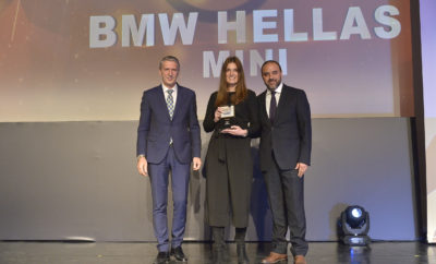 To Bronze Award στην κατηγορία «Εξαιρετική Απόδοση στον Κλάδο των Πωλήσεων - Αύξηση Πωλήσεων» κατέκτησε η ΜΙΝΙ στα φετινά Sales Excellence Awards που πραγματοποιήθηκαν την Τετάρτη, 28 Μαρτίου 2018 στο Μέγαρο Μουσικής Αθηνών. Στα βραβεία που διοργανώνονται από το Ινστιτούτο Πωλήσεων Ελλάδας (ΙΠΕ) σε συνεργασία με την Boussias Communications, η ΜΙΝΙ ήταν η μοναδική εταιρεία από το χώρο αυτοκινήτου που βραβεύτηκε στην συγκεκριμένη κατηγορία. Τα Sales Excellence Awards, αναδεικνύουν και επιβραβεύουν τις βέλτιστες πρακτικές πωλήσεων σε όλους τους επιχειρηματικούς κλάδους στην Ελλάδα. Η κριτική επιτροπή αποτελείται από καθηγητές Πανεπιστημίων και υψηλόβαθμα στελέχη εταιρειών που μέσω αδιάβλητης διαδικασίας αξιολογούν τις πρακτικές πωλήσεων των εταιρειών. Το βραβείο παρέλαβε ο κ. Μάνος Δρακωτός, Επικεφαλής της μάρκας ΜΙΝΙ στην Ελλάδα και η κα. Δήμητρα Μπίκου, Head of MINI Marketing.