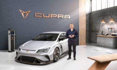 Παγκόσμια πρεμιέρα του CUPRA e-Racer, του πρώτου 100% ηλεκτρικού αγωνιστικού αυτοκινήτου τουρισμού στον κόσμο / Ντεμπούτο της νέας μάρκας CUPRA, με δικό της περίπτερο, δίπλα στο περίπτερο της SEAT / Το CUPRA Ateca, το πρώτο μοντέλο της νέας μάρκας / Η SEAT παρουσιάζει επίσης το Leon CUPRA R ST, το Ibiza TGI FR και το Leon με το νέο κινητήρα 1.5 TSI EVO / SEAT Digital Cockpit, ένα ακόμη highlight στο περίπτερο της SEAT Μετά την επίσημη παρουσίαση πριν από λίγες ημέρες στη Βαρκελώνη, το Διεθνές Σαλόνι Αυτοκινήτου της Γενεύης θα είναι το ιδανικό σκηνικό για την πρώτη εμφάνιση της νέας μάρκας CUPRA στο κοινό, σε διεθνές επίπεδο. Η νέα σπορ μάρκα θα έχει το δικό της περίπτερο, δίπλα στο περίπτερο της SEAT. Παγκόσμια πρεμιέρα του CUPRA e-Racer, του πρώτου 100% ηλεκτρικού αγωνιστικού αυτοκινήτου στο κόσμο Η νέα μάρκα CUPRA θα αναλάβει όλες τις δραστηριότητες που μέχρι τώρα είχε η SEAT Sport. H CUPRA θα κληρονομήσει τη συμμετοχή της SEAT στον κόσμο του μηχανοκίνητου αθλητισμού που είχε διάρκεια πάνω από 40 χρόνια, έχοντας παράλληλα την επίγνωση ότι το μέλλον των αγώνων θα κινηθεί πάνω σε εναλλακτικά συστήματα κίνησης. Στόχος της CUPRA είναι να ανοίξει το δρόμο και να οδηγήσει την αλλαγή προς αποδοτικούς και καθαρούς αγώνες. Με αυτό το πνεύμα, το CUPRA e-Racer θα έχει έναν ιδιαίτερα ξεχωριστό ηγετικό ρόλο στο περίπτερο της CUPRA στο Διεθνές Σαλόνι Αυτοκινήτου της Γενεύης. Από το 2014, η SEAT αποτελεί σημείο αναφοράς για το Πρωτάθλημα TCR με το Leon Cup Racer, χωρίς να ξεχνάμε πως η SEAT Sport εξελίσσει και παράγει όλα τα μοντέλα του Ομίλου Volkswagen που συμμετέχουν στο Πρωτάθλημα TCR (Audi RS3 LMS και Volkswagen Golf GTI TCR) τόσο σε περιφερειακό όσο και σε διεθνές επίπεδο. Το CUPRA e-Racer είναι ένα 100% ηλεκτρικό αγωνιστικό αυτοκίνητο, βασισμένο στο βενζινοκίνητο Cup Racer, πιο φιλικό προς το περιβάλλον και με εντυπωσιακή απόδοση. Και το καλύτερο είναι ότι έχει πολλά ακόμη πλεονεκτήματα. Ξεκινάμε από τον ηλεκτρικό κινητήρα που είναι πολύ πιο απλός, απαιτεί λιγότερη συντήρ