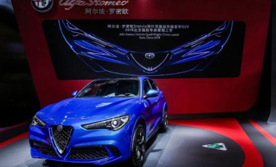 """Η Alfa Romeo λανσάρει την Stelvio Quadrifoglio στο Auto China 2018 • Η Stelvio Quadrifoglio, το υψηλών επιδόσεων premium SUV της Alfa Romeo, κάνει το ντεμπούτο της στην Ασία στο Auto China 2018, σημαδεύοντας την άφιξη ολόκληρης της οικογένειας Quadrifoglio στην Κίνα, της απόλυτης έκφρασης του Ιταλικού πάθους. • Σαν το ταχύτερο SUV παραγωγής στον κόσμο και περηφανευόμενο για το κομψό σχεδιασμό, την ισχύ που """"βρυχάται"""" και τις προηγμένες τεχνολογίες, η Stelvio Quadrifoglio αναβιώνει την ψυχή της Alfa Romeo – Ιταλικός σχεδιασμός, εξαιρετική απόδοση και DNA μηχανοκίνησης. • Η Stelvio Quadrifoglio συμπληρώνεται από μία δυναμική σύνθεση άλλων αυτοκινήτων που παρέχουν διάφορες επιλογές για τους Κινέζους πελάτες οι οποίοι λαχταρούν για πάθος – το premium SUV Stelvio, το premium sporty sedan Giulia και την υψηλών επιδόσεων Giulia Quadrifoglio. • Το Auto China 2018 λαμβάνει χώρα από τις 25 Απριλίου 2018 έως τις 4 Μαΐου 2018. Το περίπτερο της Alfa Romeo βρίσκεται στο Hall E1 του νέου διεθνούς εκθεσιακού κέντρου της Κίνας στο Πεκίνο. Η Alfa Romeo Stelvio Quadrifoglio, το υψηλών επιδόσεων premium SUV της μάρκας κάνει το ντεμπούτο της στο Auto China 2018. Το Auto China 2018 διεξάγεται από τις 25 Απριλίου 2018 έως τις 4 Μαΐου 2018. Το περίπτερο της Alfa Romeo βρίσκεται στο Hall E1 του νέου διεθνούς εκθεσιακού κέντρου της Κίνας στο Πεκίνο. Η πρώτη """"Quadrifoglio"""" που είναι επίσης και ένα SUV: αυτή είναι η Stelvio Quadrifoglio, το νέο μοντέλο με πολλά χαρακτηριστικά κορυφαίας κατηγορίας, που γίνονται άμεσα το νέο σημείο αναφοράς στην κατηγορία των premium compact SUV. Με τον πραγματικά εντυπωσιακό σχεδιασμό της, τις επιδόσεις και την τεχνολογία της, η Stelvio Quadrifoglio είναι το """"ταχύτερο SUV στην πίστα"""", έχοντας καταγράψει το νέο ρεκόρ για την κατηγορία της στο Nürburgring: 7 λεπτά και 51.7 δευτερόλεπτα. Η άφιξη της Stelvio Quadrifoglio σηματοδοτεί επίσης τη διαθεσιμότητα της πλήρους οικογένειας Quadrifoglio στην Κίνα, που αποτελεί την απόλυτη έκφραση του Ιταλικού πάθους για τους """
