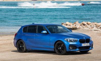 Η BMW Σειρά 1 αποτελεί τη χρυσή τομή μεταξύ άνεσης και δυναμικής οδήγησης στην compact κατηγορία. Η σπορ σχεδίαση και τα δυναμικά της χαρακτηριστικά, ενισχύονται ακόμα περισσότερο στην ειδική έκδοση M Sport Shadow Line Advanced . H πεντάθυρη BMW 116 d M Sport Shadow Line Advanced προσφέρεται με όφελος έως 7.900 € και ιδιαίτερα πλούσιο εξοπλισμό, που ενισχύει το νεανικό, φρέσκο και σπορ χαρακτήρα του μοντέλου. Αισθητικά, τόσο στο αμάξωμα, όσο και στο εσωτερικό, η έκδοση M Sport Shadow Line Advanced, διαφοροποιείται μέσω των στοιχείων του «πακέτου» εξοπλισμού Μ Sport, το οποίο εστιάζει σε σπορ χαρακτηριστικά (σχεδίαση προφυλακτήρων και πλευρικών μαρσπιέ, σπορ καθίσματα, Μ Sport δερμάτινο τιμόνι κ.ά.) αλλά και σε υψηλής ποιότητας υλικά κατασκευής, όπως οι εσωτερικές επενδύσεις από Alcantara και αλουμίνιο. Διαφοροποιήσεις υπάρχουν και στα εμπρός και πίσω φωτιστικά σώματα (μαύρο back ground εμπρός και πιο σκούρα φωτιστικά σώματα πίσω) στην απόληξη της εξάτμισης (μαύρο χρώμιο) και στα «νεφρά», τα οποία διαθέτουν μαύρο πλαίσιο. Επιπρόσθετα, οι τροχοί ελαφρού κράματος M Sport των 18 ιντσών, σε απόχρωση Jet Black, με ελαστικά runflat διαστάσεων 225/40 εμπρός και 245/35 πίσω και οι M Sport ρυθμίσεις των αναρτήσεων, ενισχύουν ακόμα περισσότερο τη δυναμική οδική συμπεριφορά. Αναλυτικά, πλέον του βασικού εξοπλισμού* η πεντάθυρη BMW 116d Μ Sport Shadow Line Advanced περιλαμβάνει και τα παρακάτω στοιχεία: - Αυτόματο κιβώτιο 8-σχέσεων - Μεταλλικό χρώμα - Μ Ζάντες ελαφρού κράματος 18-ιντσών με ελαστικά runflat - Μεταβαλλόμενη υποβοήθηση συστήματος διεύθυνσης Servotronic - Σπορ καθίσματα οδηγού συνοδηγού σε δέρμα Alcantara - Πακέτο αποθηκευτικών χώρων - Εσωτερική διακοσμητική επένδυση σε Aluminium Hexagon με μπλε διακοσμητική λωρίδα - Αισθητήρες παρκαρίσματος πίσω - Αυτόματο κλιματισμό δύο ζωνών - Cruise control - Πακέτο φωτισμού - LED φώτα ομίχλης - LED φωτιστικά σώματα με σύστημα πλύσης - M Sport ανάρτηση - M Sport δερμάτινο τιμόνι - M Αεροδυναμικό πακέτο - BMW Individual πλαίσια π