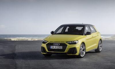 Νέο Audi A1: πολύ περισσότερο από ένα mini premium μοντέλο, 100% Audi • Ένα premium compact μοντέλο με ανατρεπτικό design και κορυφαία ποιότητα και κύλιση • Ένα μοντέλο κατασκευασμένο για το νέο, ψηφιακό κόσμο • Με τεχνολογίες ψυχαγωγίας (infotainment) από τα μεγαλύτερης κατηγορίας Audi • Με καινοτόμα συστήματα υποβοήθησης οδηγού για μεγαλύτερη άνεση και ασφάλεια • Λανσάρισμα το πρώτο τρίμηνο του 2019 To πρώτο Α1 που παρουσιάστηκε το 2010, προκάλεσε αίσθηση και γνώρισε μεγάλη επιτυχία. Λανσαρίστηκε ως «το πρώτο σου Audi» και για πολύ κόσμο αποτέλεσε την είσοδο στον ξεχωριστό κόσμο της Audi. Στη δεύτερη γενιά του, που θα λανσαριστεί το 2019, το ολοκαίνουργιο Α1 έρχεται να δώσει νέα ταυτότητα στην κατηγορία των premium compact μοντέλων. Με ενθουσιώδες, ανατρεπτικό design, κορυφαία ποιότητα υλικών και κύλιση ανώτερης κατηγορίας, το νέο premium compact εκτοξεύει τον πήχυ και επαναπροσδιορίζει το segment. Με εξελιγμένα συστήματα υποβοήθησης οδηγού και hi-tech Infotainment, παραμένοντας μόνιμα συνδεδεμένο με τον ψηφιακό κόσμο, το νέο Α1 θα προσφέρει διευρυμένες δυνατότητες εξατομίκευσης και προσωποποίησης. Ένα μοντέλο που αποτελεί ένα άλμα στο μέλλον της αυτοκίνησης την ίδια στιγμή που το DNA του είναι αντιπροσωπευτικό, 100% Audi! Το A1 είναι λίγο πιο μακρύ από τον προκάτοχό του (+56 χιλ., στα 4,03 μ.) ενώ διατηρεί ίδιο το πλάτος (1,74 μ.), με ύψος μόλις 1,43 μ. Το compact σπορ αμάξωμα με τη νέα, Singleframe μάσκα χαρακτηρίζεται από φαρδιά μετατρόχια και κοντούς πρόβολους, ενώ κάτω από το άκρο του καπό υπάρχουν τρεις επίπεδες σχισμές, «φόρος τιμής» στο θρυλικό Sport quattro που κυριάρχησε στα ράλλυ το 1984. Από το πλάι, το νέο A1 έχει έντονες σχεδιαστικές επιρροές τόσο από το Audi Ur-quattro όσο και από το Sport quattro. Ο σχεδιασμός της οροφής, που μπορεί να είναι βαμμένη σε διαφορετικό χρώμα από τις εμπρός κολόνες μέχρι την πίσω αεροτομή, δημιουργεί την εντύπωση ότι είναι πιο επίπεδη από ότι στην πραγματικότητα και το συνολικό design έχει σφηνοειδές σχήμα (συντελεστής ο