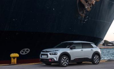 """Το Νέο C4 Cactus εφοδιασμένο με τις σταθερές αξίες της Citroën, καταφέρνει να ξεχωρίζει με τη μοναδική του σχεδίαση και την έντονη προσωπικότητά του, χάρη στην προηγμένη τεχνολογία, την κορυφαία άνεση και τους πολυβραβευμένους κινητήρες. Το Νέο C4 Cactus είναι το πρώτο Citroën στην Ευρώπη που, στο πλαίσιο του προγράμματος Citroën Advanced Comfort®, διαθέτει το πρωτοποριακό σύστημα ανάρτησης με Progressive Hydraulic Cushions™ (PHC), προσφέροντας την αίσθηση της οδήγησης πάνω σε ένα """"μαγικό χαλί"""". Είναι επίσης, το πρώτο μοντέλο παγκοσμίως που διαθέτει τα καινοτόμα Advanced Comfort καθίσματα για κορυφαία επίπεδα άνεσης. Το νέο C4 Cactus που πρόσφατα λανσαρίστηκε στη χώρα μας, αποτελεί την καλύτερη επιλογή στην κατηγορία του, αφού σε συνδυασμό με τον υπερπλούσιο εξοπλισμό και τις κορυφαίες τεχνολογίες που διαθέτει, προσφέρεται στην ελκυστική τιμή των 14.850€, καθώς και με 5 Χρόνια Εγγύηση. Η Citroen ακολουθώντας την πελατοκεντρική της φιλοσοφία, δημιούργησε ένα μοναδικό Πρόγραμμα Αγοράς, κάνοντας ακόμη πιο εύκολη την απόκτηση του δημοφιλούς χατσμπακ, του νέου C4 Cactus, προσφέροντάς το με 36 ΠΡΑΓΜΑΤΙΚΑ ΑΤΟΚΕΣ ΔΟΣΕΙΣ! Πιο συγκεκριμένα, το άτοκο χρηματοδοτικό πρόγραμμα έχει ως εξής: • 36 Πραγματικά Άτοκες Δόσεις • από 249 ευρώ το μήνα • 40% προκαταβολή Για περισσότερες πληροφορίες, επισκεφθείτε το Επίσημο Δίκτυο Διανομέων Citroen ή την επίσημη ιστοσελίδα της Citroen, www.citroen.gr , ή τη σελίδα http://c4cactus.citroen.gr/ ."""
