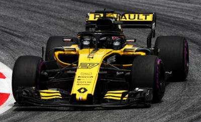 Η Renault Sport Formula One Team, ετοιμάζεται για το Βρετανικό Grand Prix στην πίστα του Silverstone, η οποία απέχει λίγα μόνο χιλιόμετρα από τις εγκαταστάσεις της ομάδας στο Enstone. Οι δύο βασικές εγκαταστάσεις της Renault, όσον αφορά στην εμπλοκή της στο Παγκόσμιο Πρωτάθλημα της Formula 1, βρίσκονται στο Viry-Châtillon της Γαλλίας και το Enstone της Μεγάλης Βρετανίας. Στην πρώτη γίνεται η εξέλιξη και κατασκευή της μονάδας παραγωγής ισχύος, ενώ στη δεύτερη σχεδιάζονται και κατασκευάζονται το πλαίσιο και τα υπόλοιπα μηχανικά μέρη του μονοθεσίου. Οι εγκαταστάσεις του Enstone βρίσκονται σε απόσταση μικρότερη των 50χλμ. από την πίστα του Silverstone, αυτός όμως δεν είναι και ο μοναδικός λόγος που το Grand Prix της Μεγάλης Βρετανίας έχει ιδιαίτερη σημειολογική σημασία για τη Renault, αφού: • Η πρώτη επίσημη συμμετοχή της Renault στο Π.Π. της Formula 1 πραγματοποιήθηκε στο Βρετανικό GP στην πίστα του Silverstone to 1977, με τον Jean-Pierre Jabouille να οδηγεί την επαναστατική RS01 με τον κινητήρα turbo. • Με τον φετινό αγώνα, η Renault, από το 1977 μέχρι και σήμερα, είτε σε επίπεδο πλήρους εμπλοκής, είτε ως προμηθευτής κινητήρων θα έχει συμμετάσχει σε 40 Grand Prix της Μεγάλης Βρετανίας(στις πίστες του Silverstone και του Brands Hatch). • Στη Μεγάλη Βρετανία, η Renault έχει πετύχει το μεγαλύτερο της αριθμό νικών (12), ενώ και σε επίπεδο συγκομιδής βαθμών η εταιρεία έχει πετύχει εξαιρετική επίδοση με 460 βαθμούς (2η καλύτερη) • Τρείς Βρετανοί οδηγοί έχουν κερδίσει τον αγώνα της πατρίδας τους οδηγώντας μονοθέσιο με κινητήρα της Renault. Ο Nigel Mansell (1991 & 1992), o Damon Hill (1994) και ο Johnny Herbert (1995). • O Nico Hülkenberg έχει βρεθεί στην βαθμολογούμενη ζώνη στο Βρετανικό GP για 5 συνεχόμενες χρονιές, ενώ η καλύτερη επίδοση του στις κατατακτήριες δοκιμές ήταν πέρυσι όπου εκκίνησε από την 5η θέση.