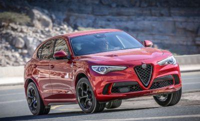 ο δημοφιλές Γερμανικό περιοδικό, Auto Zeitung, έδωσε τον τίτλο 'SUV of the Year 2018' στην Alfa Romeo Stelvio Quadrifoglio. Το μοντέλο της ιταλικής μάρκας επικράτησε ανάμεσα σε 10 ακόμα SUV υψηλών επιδόσεων, χάρη στην κορυφαία τεχνολογία που διαθέτει και το μοναδικό οδηγικό του χαρακτήρα. Το σήμα με το τετράφυλλο τριφύλλι (Quadrifoglio) που τοποθετείται στις κορυφαίες εκδόσεις των μοντέλων της Alfa Romeo, στη συγκεκριμένη περίπτωση υποστηρίζεται από τον bi-turbo V6 βενζινοκινητήρα των 2.9 λίτρων, απόδοσης 510 ίππων, ο οποίος επιταχύνει τη Stelvio από στάση στα 100χλμ./ώρα σε μόλις 3,8δλ., ενώ της χαρίζει τελική ταχύτητα που αγγίζει τα 283χλμ./ώρα Η Alfa Romeo Quadrifoglio είναι εφοδιασμένη με προηγμένες τεχνολογίες, όπως το σύστημα τετρακίνησης Q4, το σύστημα ενεργής διαχείρισης της ροπής AlfaTM Active Torque Vectoring, την ενεργή ανάρτηση AlfaTM Active Suspension, καθώς και το σύστημα Chassis Domain Control (CDC) που συντονίζει όλα τα ηλεκτρονικά συστήματα του αυτοκινήτου, με στόχο τη βέλτιστη απόδοση. Αυτή η κορυφαία τεχνολογική υπεροχή, αποτέλεσε τη βάση για να θέσει η Alfa Romeo Stelvio Quadrifoglio νέο ρεκόρ στη θρυλική πίστα Nürburgring, καθιστώντας το μοντέλο της Alfa Romeo το ταχύτερο SUV στην κατηγορία του.