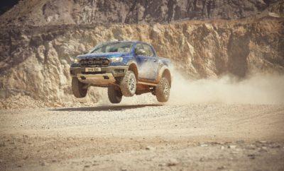 Ford Ranger Raptor Έρχεται στην Ευρώπη – Το Pick-up των Απόλυτων Επιδόσεων δίνει ένα 'Βροντερό' Παρών στην Έκθεση Ηλεκτρονικών Παιχνιδιών Gamescom • Νέο Ranger Raptor – η σκληρότερη και ταχύτερη έκδοση ενός Ευρωπαϊκού best-seller – κάνει Ευρωπαϊκό ντεμπούτο στην Έκθεση Gamescom, πριν την κυκλοφορία του το 2019 • Δημιούργημα της Ford Performance, το τρομερό Ranger Raptor απευθύνεται στους λάτρεις της περιπέτειας και απαντά στην πρόκληση της γρήγορης οδήγησης σε συνθήκες off-road • Κινείται με άνεση σε όλα τα εδάφη, χάρη στο πολύ ανθεκτικό πλαίσιο, έχοντας αποκλειστική ανάρτηση και ελαστικά, κινητήρα EcoBlue 213 ίππων με ροπή 500 Nm, αυτόματο κιβώτιο 10 σχέσεων, Terrain Management System • Το Ranger Raptor θα πρωταγωνιστεί στο νέο video racing game Forza Horizon 4 και είναι το πρώτο όχημα που κάνει δημόσιο ντεμπούτο στην Gamescom Η Ford επιβεβαίωσε σήμερα ότι το νέο Ranger Raptor – η σκληρότερη και ταχύτερη έκδοση του Ευρωπαϊκού best-seller της – εισβάλλει δυναμικά στην Ευρώπη, καθώς το τολμηρό νέο μοντέλο έκανε το ντεμπούτο του στην Έκθεση Ηλεκτρονικών Παιχνιδιών Gamescom, στην Κολωνία (Γερμανία). Έχοντας εξελιχθεί από την Ford Performance για τους λάτρεις της γρήγορης off-road οδήγησης, το πρώτο Ranger Raptor της ιστορίας θα κυκλοφορήσει στην Ευρώπη από τα μέσα του 2019, με την ισχύ μιας έκδοσης Bi-turbo του κινητήρα 2.0 litre EcoBlue diesel της Ford που αποδίδει 213 ίππους και ροπή 500 Nm και το νέο αυτόματο κιβώτιο 10 σχέσεων της μάρκας. Η επιβλητική παρουσία που διαμορφώνουν οι εντυπωσιακές διαστάσεις και το extreme στυλ του απόλυτου Ranger υποστηρίζεται από ένα μοναδικό πλαίσιο της Ford Performance, βελτιστοποιημένο για γρήγορη οδήγηση εκτός δρόμου και δυνατότητες παντός εδάφους. Η Ford και η Microsoft αποκάλυψαν επίσης ότι το νέο Ranger Raptor θα πρωταγωνιστεί στο νέο video racing game Forza Horizon 4, δίνοντας την ευκαιρία σε ακόμα περισσότερους φίλους των υψηλών επιδόσεων να βιώσουν τις απαράμιλλες ικανότητες του pick-up. Με το λανσάρισμα του νέου Ford Ranger
