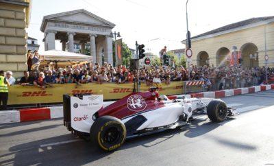 """Ξεκίνησε χθες το """"F1 Unleash"""" στο Μιλάνο. Πρόκειται για μια ξεχωριστή εκδήλωση, η οποία είναι αφιερωμένη σε όλους τους φίλους του μηχανοκίνητου αθλητισμού. Η συγκεκριμένη εκδήλωση έρχεται να αποτελέσει την τέλεια συνοδεία για το Grand Prix της Monza που θα πραγματοποιηθεί το προσεχές σαββατοκύριακο. Πρόκειται για έναν από τους πιο ιστορικούς αγώνες της Formula 1, ο οποίος βρίσκεται ανελλιπώς στο πρόγραμμα του θεσμού από το 1950. Η Monza έχει μια ιδιαίτερη σύνδεση με την Alfa Romeo, αφού εκτός του ότι βρίσκεται μερικά μόνο χιλιόμετρα μακριά από την έδρα της εταιρείας στο Μιλάνο, είναι και η πίστα οπού το 1950 ο Nino Farina με την Alfa Romeo 158 κέρδισαν τον πρώτο αγώνα της Formula 1 στην Ιταλία, μια νίκη που άνοιξε το δρόμο για την κατάκτηση του παγκόσμιου τίτλου την ίδια χρονιά. Στο """"F1 Unleash"""" το κοινό προσκλήθηκε να γνωρίσει από κοντά τόσο το φετινό μονοθέσιο της Alfa Romeo Sauber F1 Team, όσο και τους οδηγούς της, Marcus Ericsson και Charles Leclerc. Η έκπληξη ήρθε όταν το μονοθέσιο πραγματοποίησε γύρους σε μια διαδρομή 1,6km στην Viale D'Annunzio στο κέντρο του Μιλάνο, ενώ παράλληλα με το μονοθέσιο, το παρόν στη διαδρομή έδωσαν και οι κορυφαίες Alfa Romeo Giulia Quadrifoglio και Stelvio Quadrifoglio, εφοδιασμένες με τον κινητήρα 2,9 V6 Bi-Turbo των 510 ίππων. Τέλος ακόμα μία έκπληξη περίμενε το κοινό, αφού στο περίπτερο της Alfa Romeo φιλοξενήθηκε η Alfa Romeo Giulia Quadrifoglio """"NRING"""", μια εξαιρετικά περιορισμένης παραγωγής έκδοση της Giulia, η οποία δημιουργήθηκε για να εορταστεί το νέο ρεκόρ που έθεσε η μάρκα στο διάσημο Nürgburgring. Η συγκεκριμένη έκδοση, παράλληλα με τα προηγμένα χαρακτηριστικά που διαθέτουν όλα τα μοντέλα Quadrifoglio, ξεχωρίζει χάρη στο ειδικό χρώμα Circuito Grey, στα επιπλέον τμήματα από ανθρακονήματα (π.χ. καθρέπτες), τα κεραμικά φρένα, καθώς και τα ειδικά καθίσματα επίσης με ανθρακονήματα της Sparco®. Τέλους για τους λίγους τυχερούς που έχουν εξασφαλίσει να αποκτήσουν μία από τις Giulia Quadrifoglio """"NRING"""", η Alfa Romeo έχει ετοιμ"""