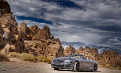 Η BMW συνεχίζει την προϊοντική της επέλαση στην πολυτελή κατηγορία με την εξέλιξη μιας ακόμα έκδοσης της νέας BMW Σειράς 8. Με εντατικές δοκιμές των λειτουργιών συστημάτων και test drives μεταξύ Las Vegas και Death Valley (Κοιλάδα του Θανάτου), έχει ξεκινήσει η κρίσιμη φάση εξέλιξης της νέας BMW Σειράς 8 Cabrio. Τα αποτελέσματα δοκιμών θερμού κλίματος στις Δυτικές Πολιτείες των ΗΠΑ παρέχουν σημαντικές πληροφορίες για τη λειτουργική ασφάλεια των μηχανικών και ηλεκτρονικών εξαρτημάτων υπό ακραίες καιρικές συνθήκες. Θερμοκρασίες άνω των 50 βαθμών Κελσίου, πολύ υψηλή συγκέντρωση σκόνης στην έρημο, κυκλοφορία με συχνά stop-and-go στο Las Vegas, χωματόδρομοι γύρω από το Όρος Whitney και διαδρομές μεγάλων αποστάσεων μεταξύ της ακτής του Ειρηνικού και των Βραχωδών Ορέων χαρακτηρίζουν το απαιτητικό πρόγραμμα δοκιμών εξέλιξης της νέας BMW Σειράς 8 Cabrio. Καιρικές συνθήκες για ένα cabrio σίγουρα δεν υπάρχουν στo Death Valley. Ωστόσο, η ζέστη και η μεγάλη ξηρασία του εθνικού πάρκου στην Έρημο Mojave δημιουργούν τις ιδανικές συνθήκες για δοκιμές υψηλών προκλήσεων. Στο εσωτερικό της BMW Σειράς 8 Cabrio που προηγουμένως έχει εκτεθεί για ώρες κάτω από καυτό ήλιο, οι μηχανικοί της BMW ελέγχουν το ηλεκτρονικό σύστημα, το ηχοσύστημα, αισθητήρες και κάμερες για τα συστήματα υποστήριξης οδηγού, τις ενδείξεις του νέου Λειτουργικού Συστήματος BMW 7.0, λειτουργίες συνδεσιμότητας, ρυθμίσεις καθισμάτων και τέλος, το αυτόματο σύστημα ελέγχου κλιματισμού. Το ταξίδι του καμουφλαρισμένου πρωτοτύπου στο Φράγμα Hoover θέτει μία πρόσθετη πρόκληση για τα ηλεκτρονικά του οχήματος. Τα ισχυρά ηλεκτρομαγνητικά κύματα από τους στροβίλους του ηλεκτροϋδραυλικού εργοστασίου που είναι εγκατεστημένο στην περιοχή, είναι το απόλυτο μέτρο σύγκρισης, που επιβεβαιώνει την απουσία παρεμβολών στα ηλεκτρονικά συστήματα από εξωτερικές πηγές. Επιπλέον, σε ατελείωτες διαδρομές μέσα από τη στέπα και το θρυλικό Death Valley, δοκιμάζεται η αντοχή στη σκόνη του πολυστρωματικού soft-top και του μηχανισμού οροφής. Οι κακουχί
