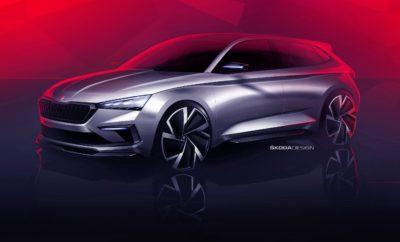 SKODA VISION RS – Το concept car της επόμενης γενιάς RS › Παρουσιάστηκαν τα πρώτα σκίτσα του SKODA VISION RS › Πρόκειτα για το concept car που θα παρουσιάσει η SKODA στο Σαλόνι Αυτοκινήτου στο Παρίσι, σε ένα μήνα › Το VISION RS δείχνει την κατεύθυνση του design των εκδόσεων RS στο μέλλον αλλά και ένα πιθανό σπορ compact μοντέλο που θα λανσάρει η SKODA τα επόμενα χρόνια Η SKODA έδωσε στη δημοσιότητα δύο σχεδιαστικά σκίτσα που προσφέρουν μια πρόγευση του VISION RS, του design concept που θα παρουσιάσει η μάρκα στο Σαλόνι Αυτοκινήτου στο Παρίσι, σε περίπου ένα μήνα. Το VISION RS προϊδεάζει για ένα μελλοντικό σπορ compact μοντέλο και ταυτόχρονα δείχνει πού θα κινηθεί σχεδιαστικά η γκάμα RS, που περιλαμβάνει τις πιο σπορ εκδόσεις της SKODA. Παράλληλα με τα σκίτσα, η SKODA παρουσίασε και ένα video ( https://www.skoda-storyboard.com/en/koda-vision-rs/ ) που δείχνει τη δουλειά που γίνεται στα studio της εταιρείας, εκεί που τα RS ξεκινούν από απλές γραμμές σε χαρτί μέχρι να καταλήξουν στις σπορ δημιουργίες της νέας εποχής της μάρκας. Η οπτική εντύπωση που δίνουν τα σκίτσα περιγράφεται από μία λέξη: αεροδυναμική! Λεπτά φωτιστικά σώματα LED, σφηνοειδής φόρμα, διαχύτες και σπόιλερ συνθέτουν ένα compact μοντέλο που φέρει περήφανα την ένδειξη RS. Ένας συνδυασμός γραμμάτων που παρουσιάστηκε για πρώτη φορά στο 130 RS, για να ακολουθήσουν το 1974 τα 180 RS και 200 RS, μοντέλα που συμμετείχαν σε αγώνες ράλλυ. Από το 2000, η ένδειξη RS πλέον χρησιμοποιείται για να ξεχωρίζουν όλες οι εκδόσεις επιδόσεων των μοντέλων της SKODA. Το design studio της SKODA, με διευθυντή τον Όλιβερ Στεφάνι, έχει έδρα μία διατηρητέα βίλα του 19ου αιώνα, σε ένα ειδυλιακό περιβάλλον στις όχθες του ποταμού Γιζέρα, στην κεντρική Βοημία. Απασχολεί περισσότερους από 150 σχεδιαστές και βοηθητικό προσωπικό, από 26 χώρες. Αυτή η πολυσχιδής ομάδα, που συνδυάζει κουλτούρες απ' όλο τον κόσμο, βρίσκεται πίσω από το σύγχρονο design της SKODA και είναι υπέυθυνη και για το VISION RS. Η πλήρης αποκάλυψή του, στο Σαλόνι Αυτοκ