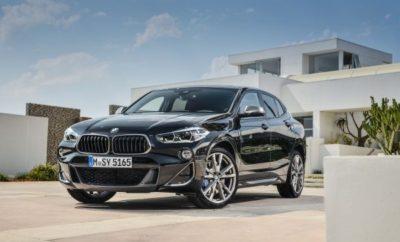 Σπορ ταπεραμέντο σε συνδυασμό με επιθετική εμφάνιση – προϊόν αυτής της 'συνταγής', η νέα BMW X2 έχει εμπνεύσει κατά κύριο λόγο ένα νεανικό και μοντέρνο κοινό μετά την πρεμιέρα της, το Μάρτιο του 2018. Με την εξωστρεφή της σχεδίαση, η BMW X2 ερμηνεύει με το δικό της τρόπο το χαρακτήρα ενός premium SAC (Sports Activity Coupes) στην compact κατηγορία. Η κορυφαία BMW X 2 είναι μία έκδοση M Performance . Η BMW παρουσιάζει τώρα το νέο top model της σειράς X2. Η φαρδιά μάσκα 'νεφρών' BMW της νέας BMW X2 M35i (κατανάλωση μικτού κύκλου 8,4-8,1 l/100 km, εκπομπές CO2 στο μικτό κύκλο: 191-185 g/km)*, διαφοροποιείται οπτικά με ένα πλαίσιο βαμμένο σε Cerium Grey. Παρομοίως, τα πλαίσια των αεραγωγών και τα καλύμματα εξωτερικών καθρεπτών έχουν φινίρισμα Cerium Grey. Στο πίσω τμήμα της X2 M35i κυριαρχεί η στάνταρ αεροτομή M και δύο ειδικά σχεδιασμένες απολήξεις εξαγωγής, ομοίως σε Cerium Grey. Ο ισχυρότερος δίλιτρος TwinPower Turbo της BMW . Η νέα BMW X2 M35i με τετρακύλινδρο, υπερτροφοδοτούμενο βενζινοκινητήρα 225 kW (306 hp) θέτει νέα πρότυπα, που ξεπερνούν τις προηγούμενες εκδόσεις. Όπως υποδηλώνει το γράμμα 'M' στην ονομασία της, η νέα X2 M35i προσφέρει τις δυναμικές επιδόσεις ενός μοντέλου M Performance, με την υπογραφή της BMW M GmbH, της οποίας η αγωνιστική τεχνογνωσία επηρεάζει την εξέλιξη όλων των εξαρτημάτων. Ο δίλιτρος κινητήρας TwinPower Turbo, τοποθετημένος κάτω από κάλυμμα M Performance, είναι ο πρώτος τετρακύλινδρος κινητήρας M Performance και ταυτόχρονα η ισχυρότερη έκδοση της BMW. Αποδίδει συναρπαστική μέγιστη ισχύ 225 kW (306 hp). Η μέγιστη ροπή φτάνει 450 Nm. Για την αξιόπιστη μεταφορά αυτής της εντυπωσιακής ισχύος στο δρόμο, η X2 M35i εφοδιάζεται στάνταρ με ευφυή τεχνολογία τετρακίνησης xDrive σε συνδυασμό με το 8άρι κιβώτιο Steptronic με λειτουργία Launch Control. Το αυτόματο κιβώτιο έχει ειδικό 'σετάρισμα' M Performance. Η BMW X2 M35i επιταχύνει από 0 σε 100 km/h σε 4,9 δευτερόλεπτα*. Η απαραίτητη θερμική σταθερότητα του κινητήρα είναι εξασφαλισμένη από το ανα