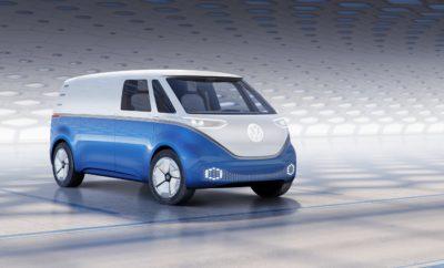 """Παγκόσμια πρεμιέρα για το I.D. BUZZ CARGO της Volkswagen στο Αννόβερο • Για πρώτη φορά ένα ηλεκτρικό βαν είναι σε θέση να γράψει το επόμενο κεφάλαιο στην ιστορία των επαγγελματικών οχημάτων • Ηλεκτρικό πρωτότυπο βαν με τεράστιους χώρους βασισμένο στην ΜΕΒ (Modular Electric Drive Matrix), τη νέα πλατφόρμα της VW εξελιγμένη ειδικά για τα ηλεκτρικά οχήματα • Με την πιο μεγάλη μπαταρία, η ΜΕΒ επιτυγχάνει αυτονομία μεγαλύτερη των 550 χλμ. • Το """"Internet of Things"""", το νέο οικοσύστημα με βάση το internet υλοποιείται στο I.D. Buzz Cargo χάρη στην ψηφιακή διασύνδεση του χώρου φόρτωσης με το περιβάλλον του οδηγού • Το I.D. Buzz Cargo διαθέτει δυνατότητα αυτόνομης οδήγησης επιπέδου 4, κινούμενο πλήρως αυτόνομα στο επόμενο σημείο χρήσης/φόρτωσης • Παροχή ηλεκτρικού ρεύματος 230 V χωρίς χρήση εξωτερικής γεννήτριας • Οροφή με ηλιακά πάνελ προσθέτει επιπλέον αυτονομία έως και 15 χλμ. Στην ιστορία της αυτοκίνησης λίγα είναι τα μοντέλα που χαρακτηρίστηκαν ως «icons» και, όσο και αν φαίνεται παράξενο, ένα από αυτά είναι ένα βαν, το Bulli της Volkswagen. Πλέον, η νέα εποχή για το Bulli έφτασε, με τη Volkswagen Commercial Vehicles να παρουσιάζει το πρωτότυπο I.D. BUZZ CARGO σε παγκόσμια πρεμιέρα στην Έκθεση Επαγγελματικών Οχημάτων - IAA Commercial Vehicles στο Αννόβερο (20-27 Σεπτεμβρίου). Το ολοκαίνουργιο I.D. BUZZ CARGO αναμένεται να παρουσιαστεί στις αγορές το 2021. Μέχρι τότε, ως αδερφό μοντέλο του επιτυχημένου """"Τ6"""" και με δυνατότητα αυτόνομης οδήγησης επιπέδου 4, δείχνει πώς ένα ηλεκτρικό και πλήρως ανασχεδιασμένο και εξελιγμένο Bulli μπορεί να γράψει ένα νέο κεφάλαιο στην ιστορία της αυτοκίνησης, περνώντας τη γκάμα των βαν σε μία νέα εποχή. Το πρωτότυπο βαν που θα αποκαλύφθηκε στο Αννόβερο είναι μία εξελιγμένη έκδοση του I.D. BUZZ, του πρωτότυπου που ενθουσίασε το 2017 όταν πρωτοπαρουσιάστηκε και που θα βγει στους δρόμους το 2022. Το νέο I.D. BUZZ CARGO έχει σχεδιαστεί έτσι ώστε να είναι πολύ κοντά στο μοντέλο που θα μπει στην παραγωγή. Έχει εξελιχθεί από κοινού από τις Volkswag"""